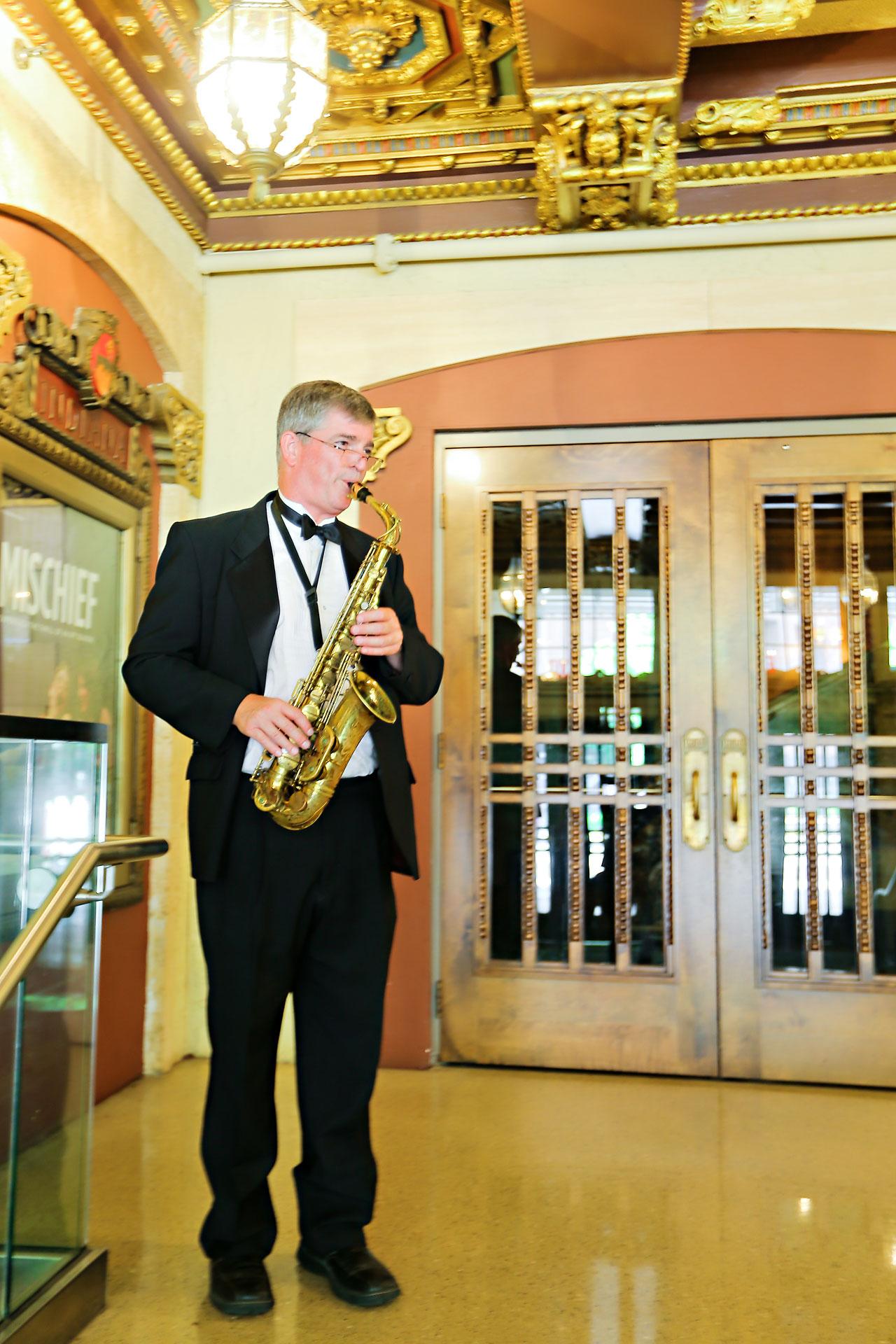 Kim Spencer Indiana Roof Ballroom Wedding 155