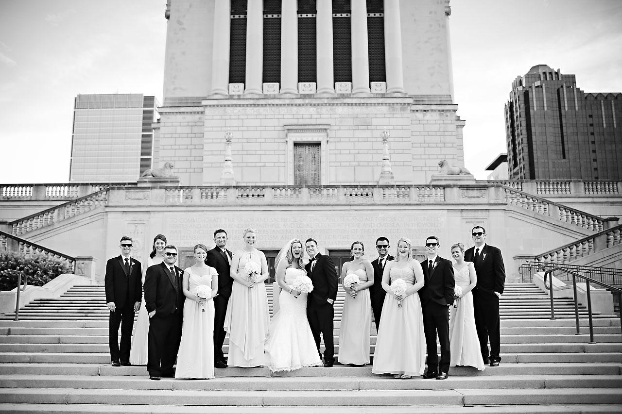 Kim Spencer Indiana Roof Ballroom Wedding 139