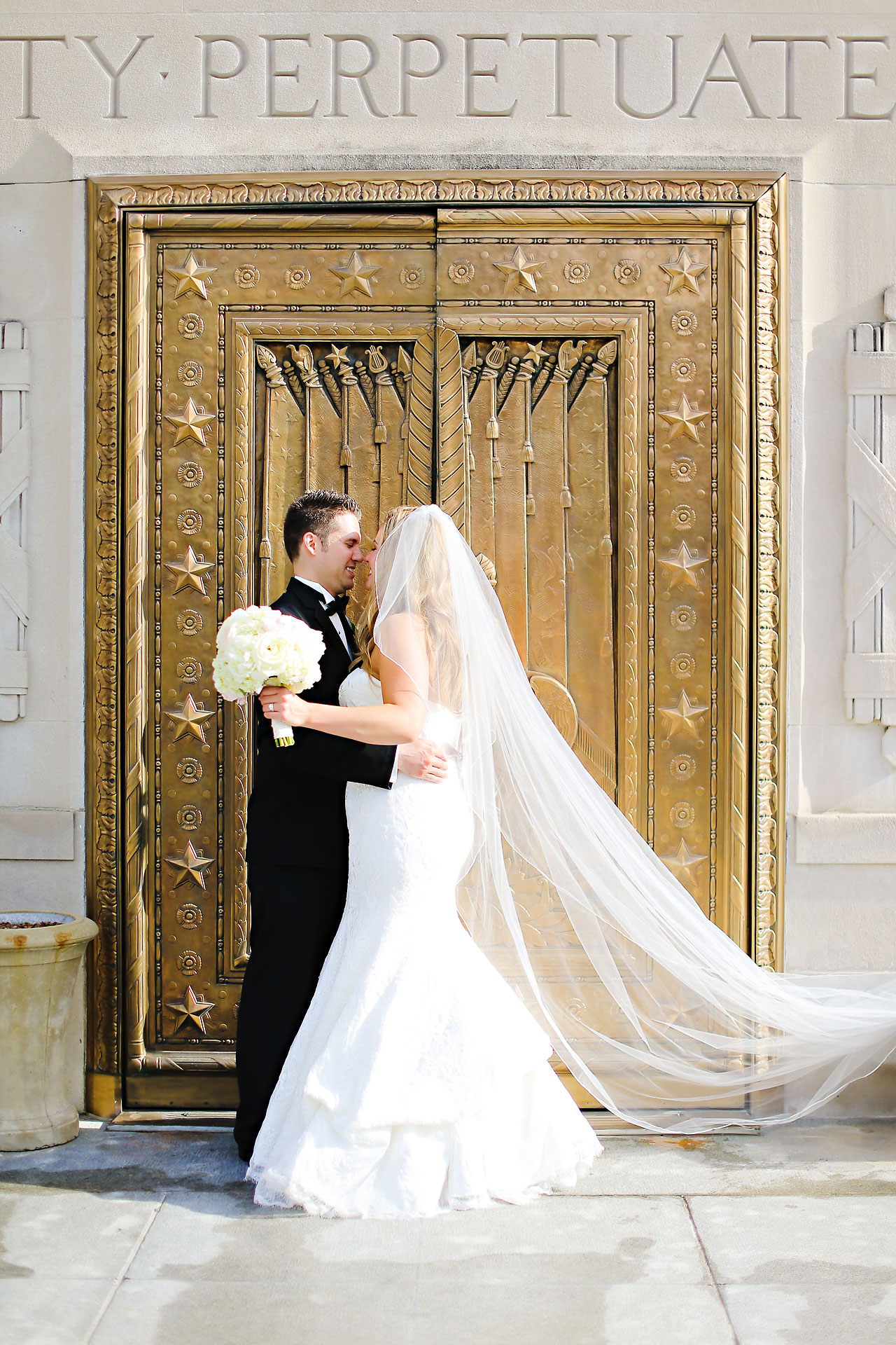 Kim Spencer Indiana Roof Ballroom Wedding 137