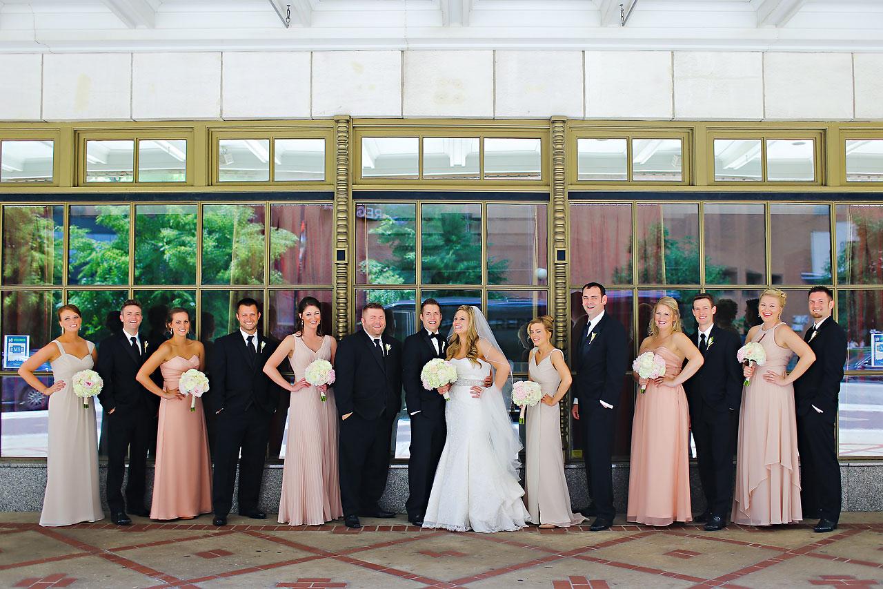 Kim Spencer Indiana Roof Ballroom Wedding 069