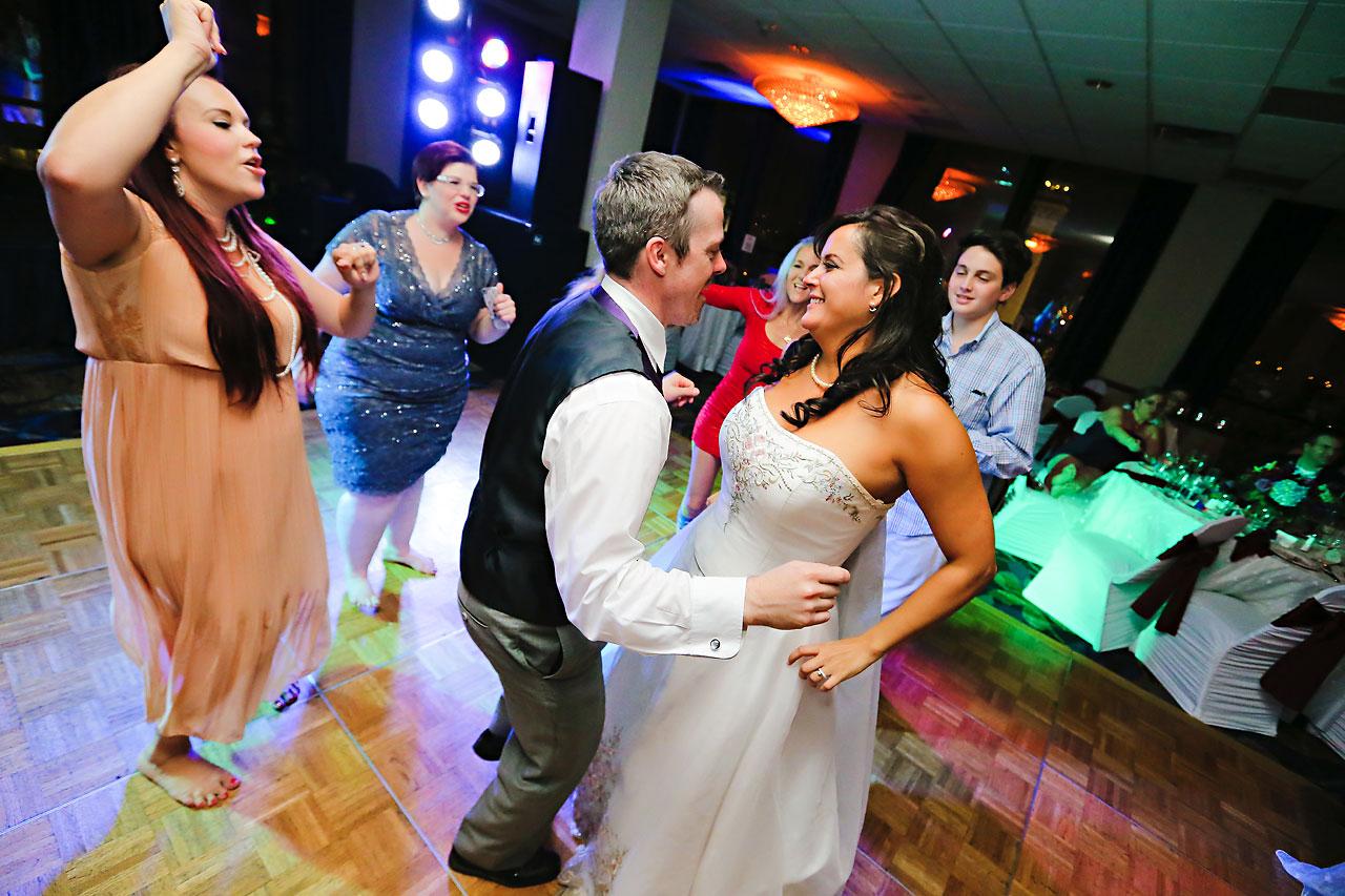 Megan Mike Sheraton Indianapolis Wedding 251
