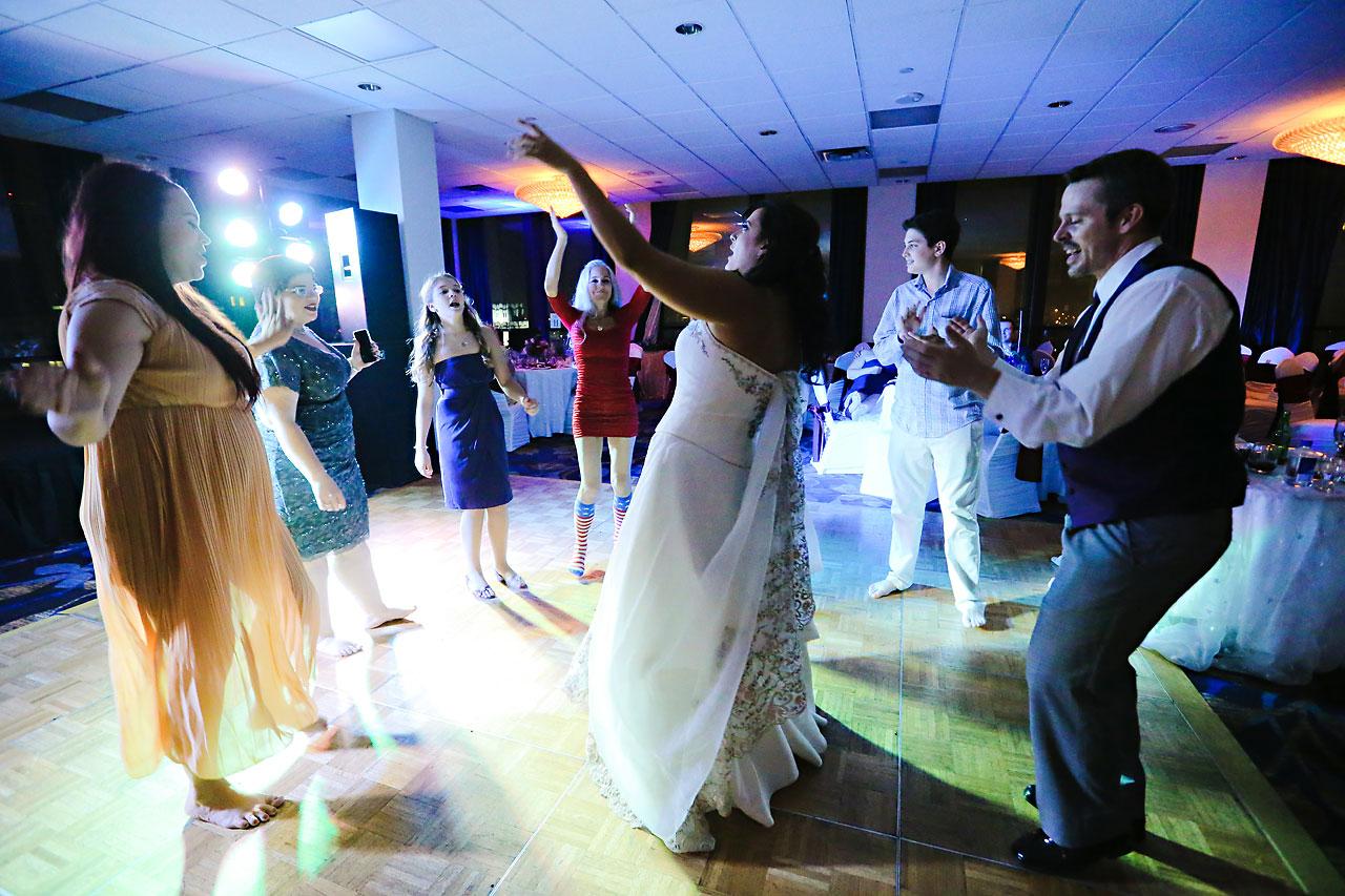 Megan Mike Sheraton Indianapolis Wedding 244