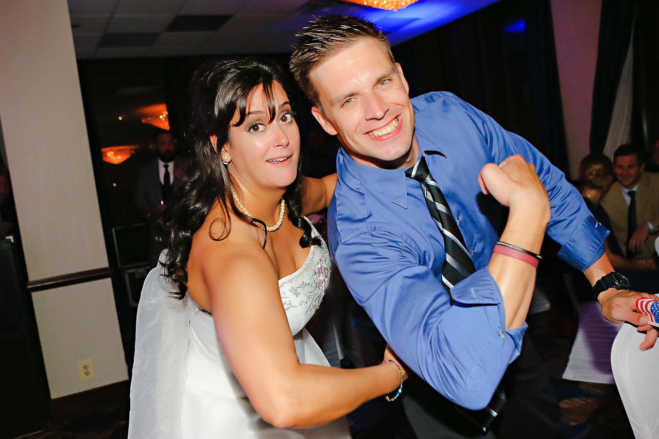 Megan Mike Sheraton Indianapolis Wedding 242