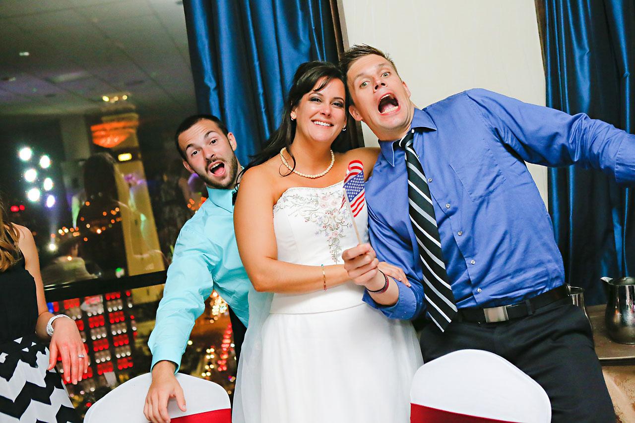 Megan Mike Sheraton Indianapolis Wedding 239