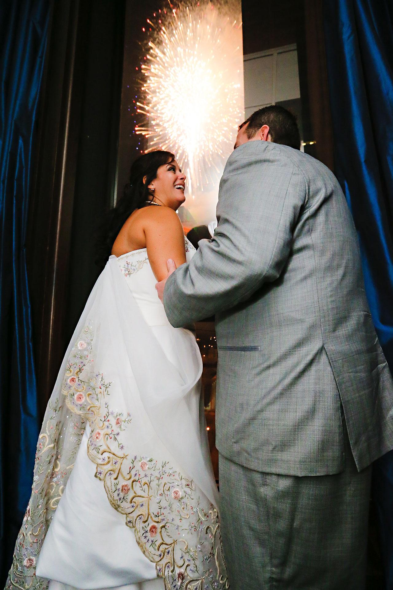 Megan Mike Sheraton Indianapolis Wedding 219