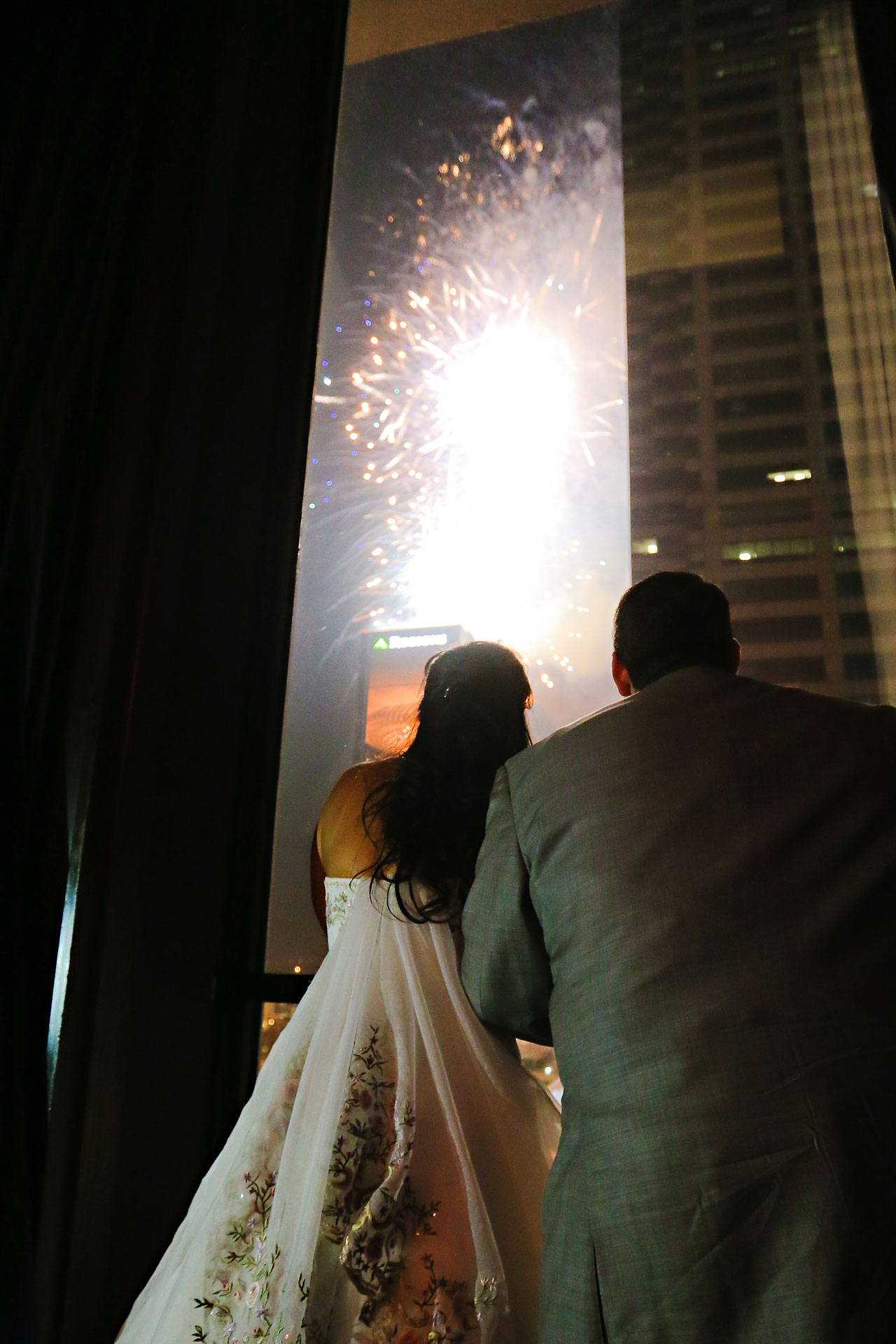 Megan Mike Sheraton Indianapolis Wedding 220