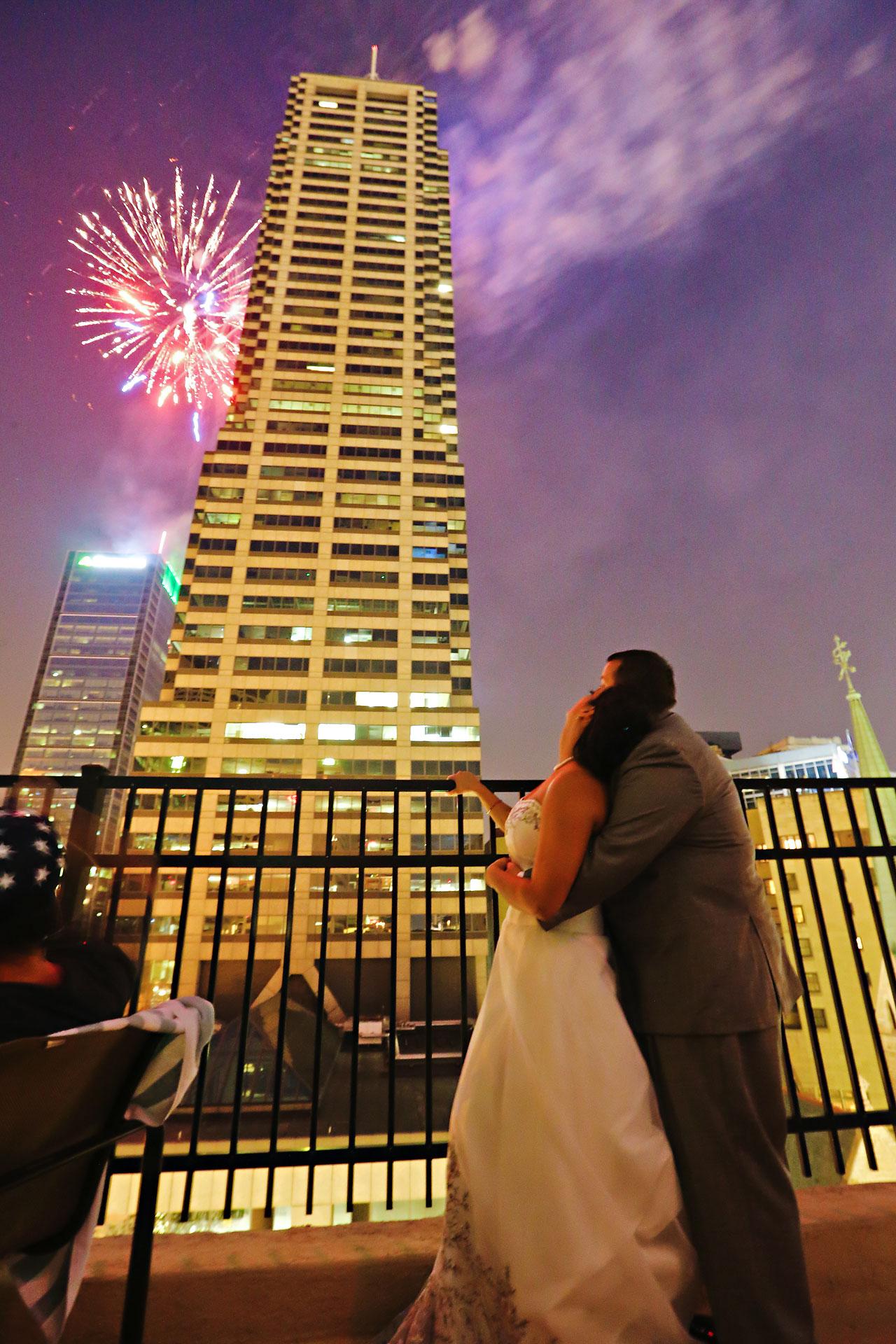 Megan Mike Sheraton Indianapolis Wedding 214
