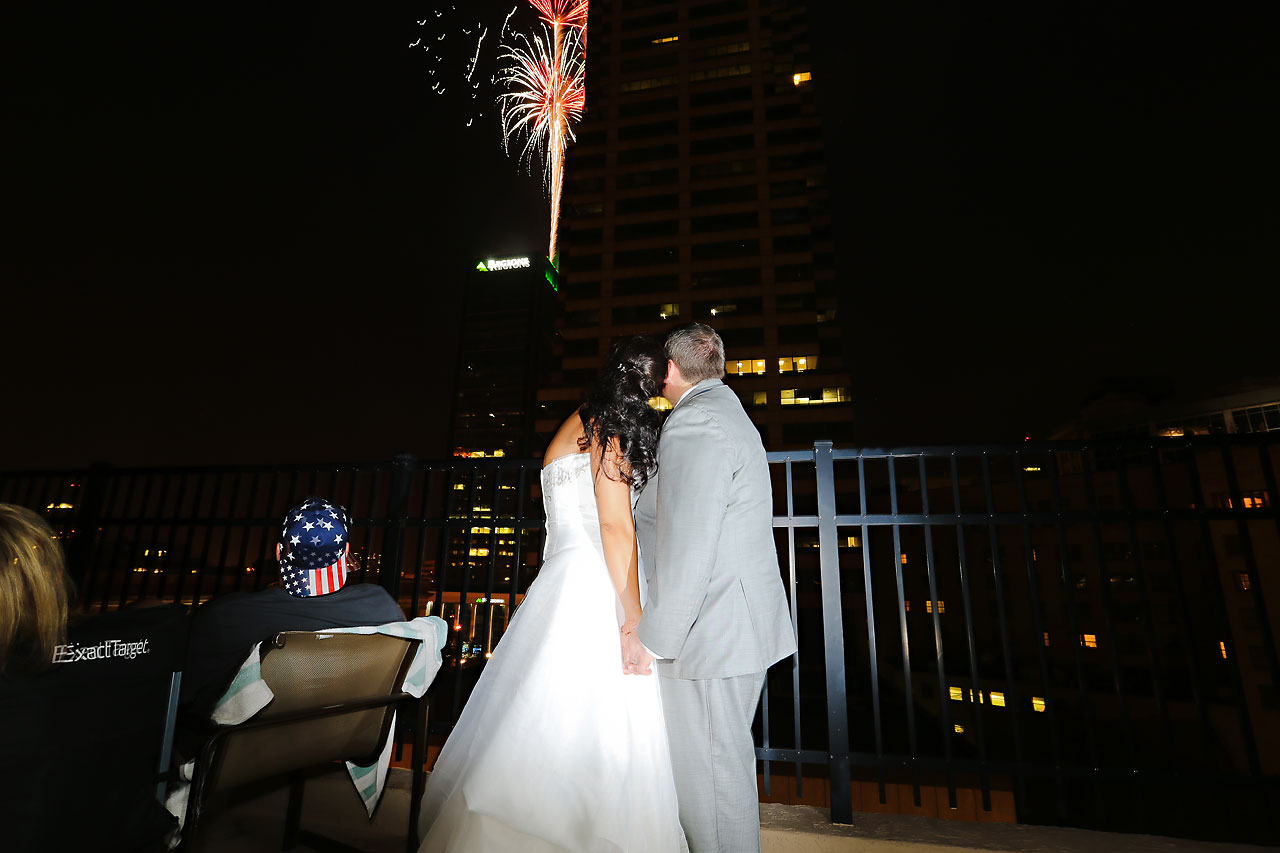 Megan Mike Sheraton Indianapolis Wedding 213