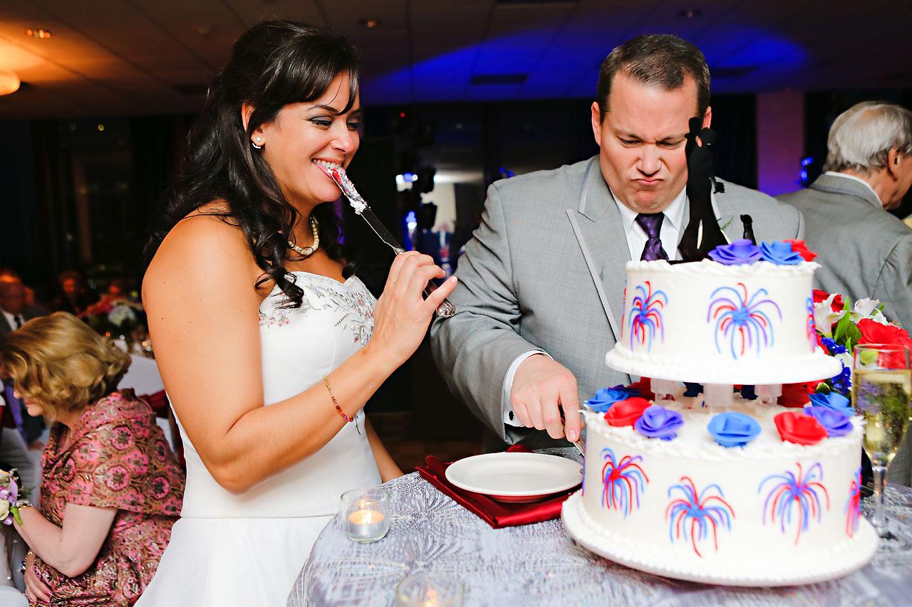 Megan Mike Sheraton Indianapolis Wedding 209