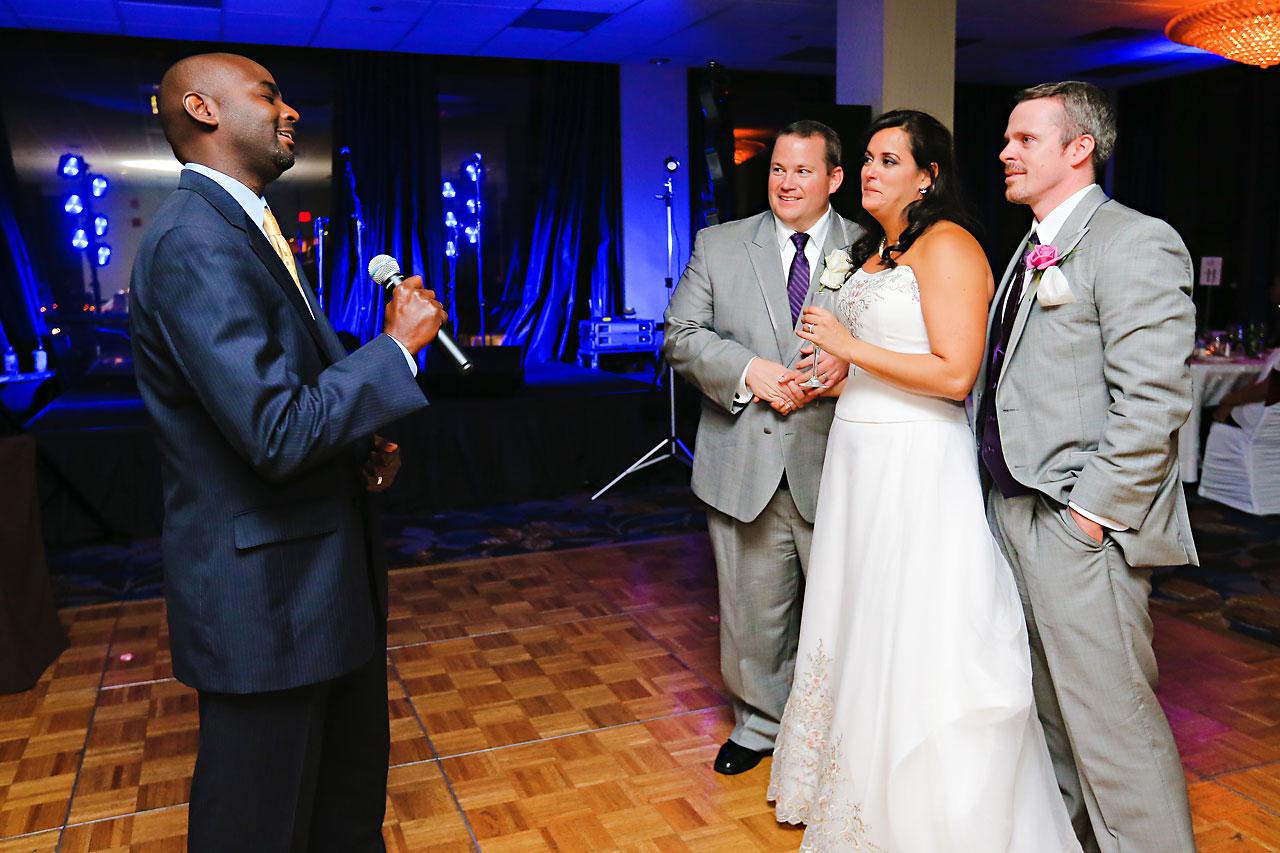 Megan Mike Sheraton Indianapolis Wedding 210