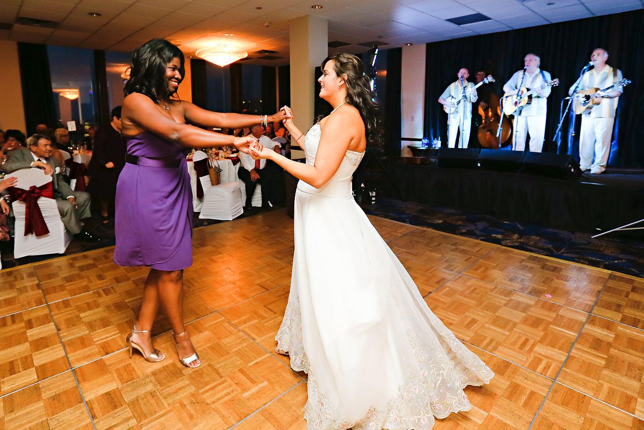 Megan Mike Sheraton Indianapolis Wedding 207
