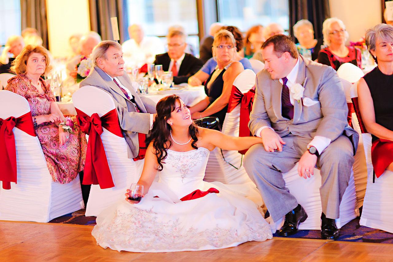 Megan Mike Sheraton Indianapolis Wedding 199