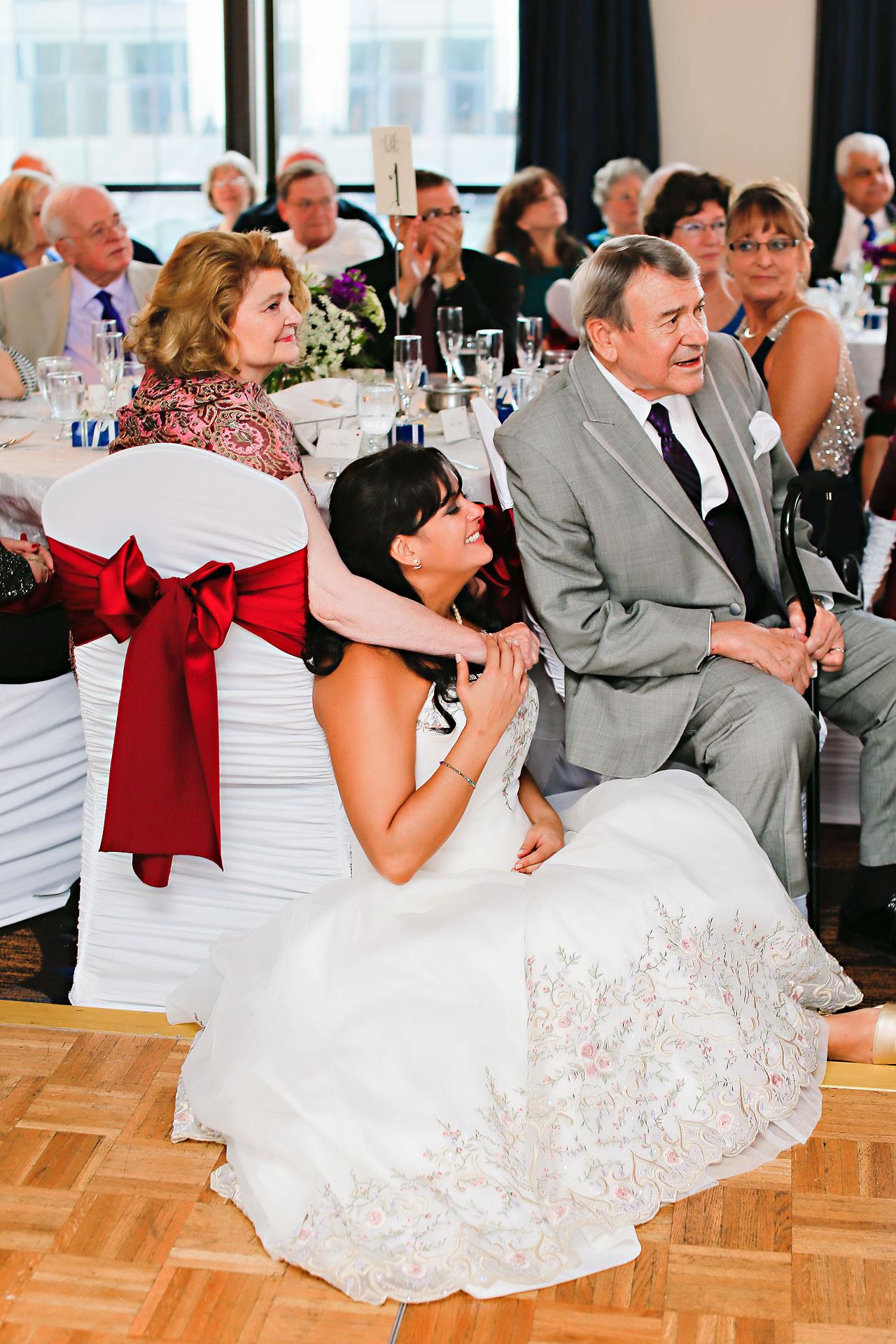 Megan Mike Sheraton Indianapolis Wedding 188