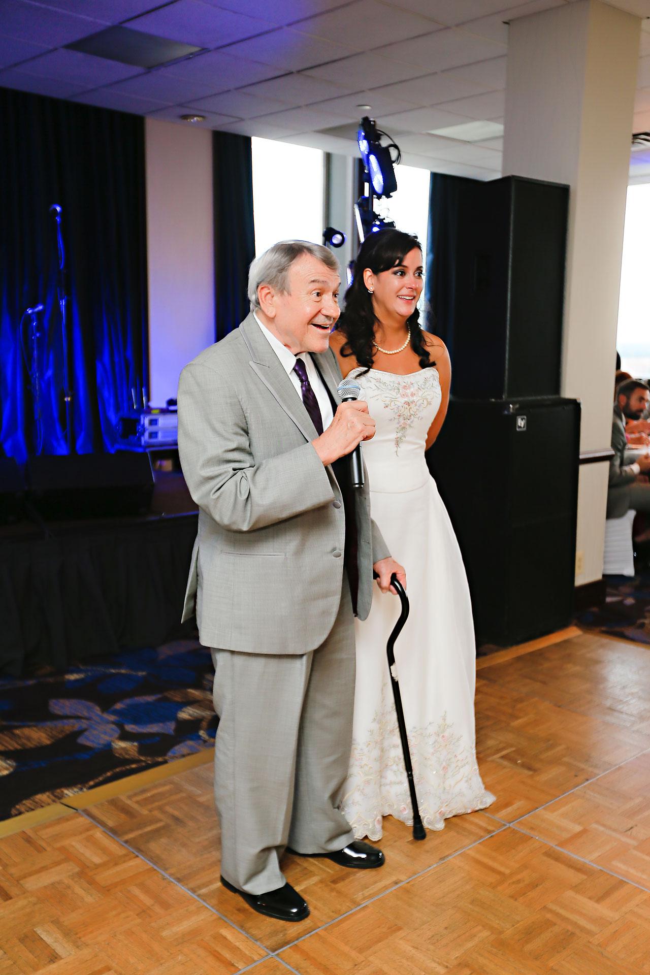 Megan Mike Sheraton Indianapolis Wedding 185