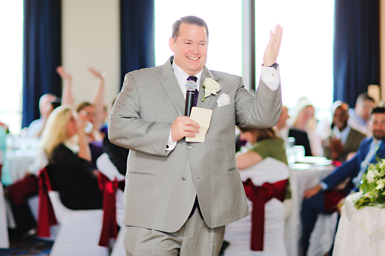 Megan Mike Sheraton Indianapolis Wedding 179