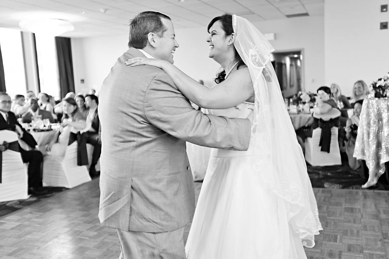 Megan Mike Sheraton Indianapolis Wedding 177