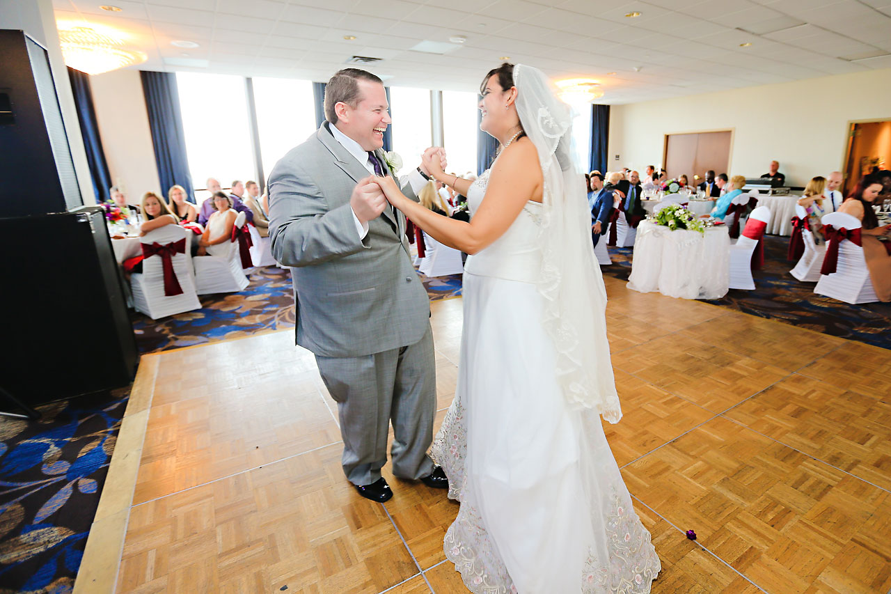 Megan Mike Sheraton Indianapolis Wedding 178