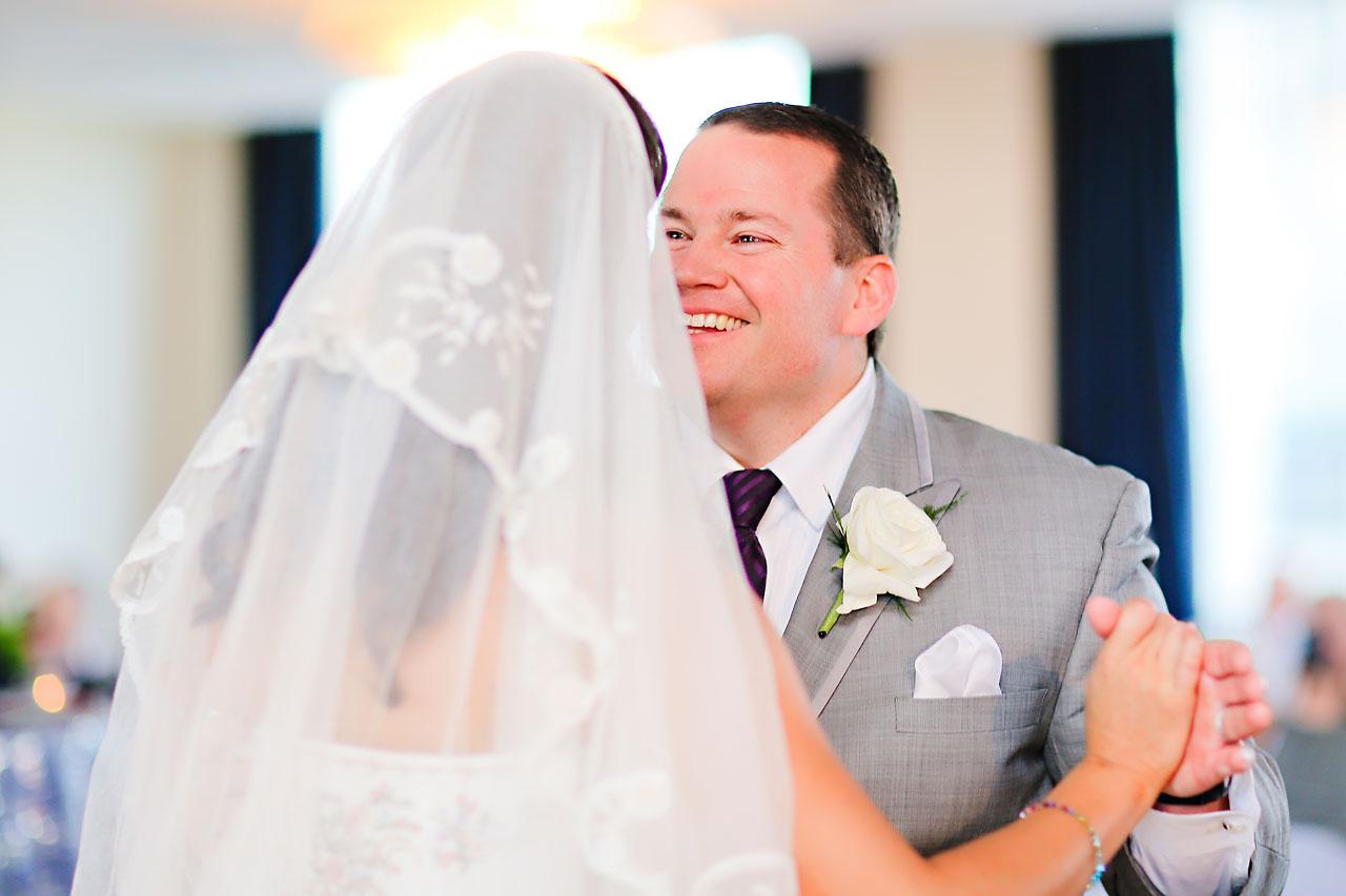 Megan Mike Sheraton Indianapolis Wedding 174
