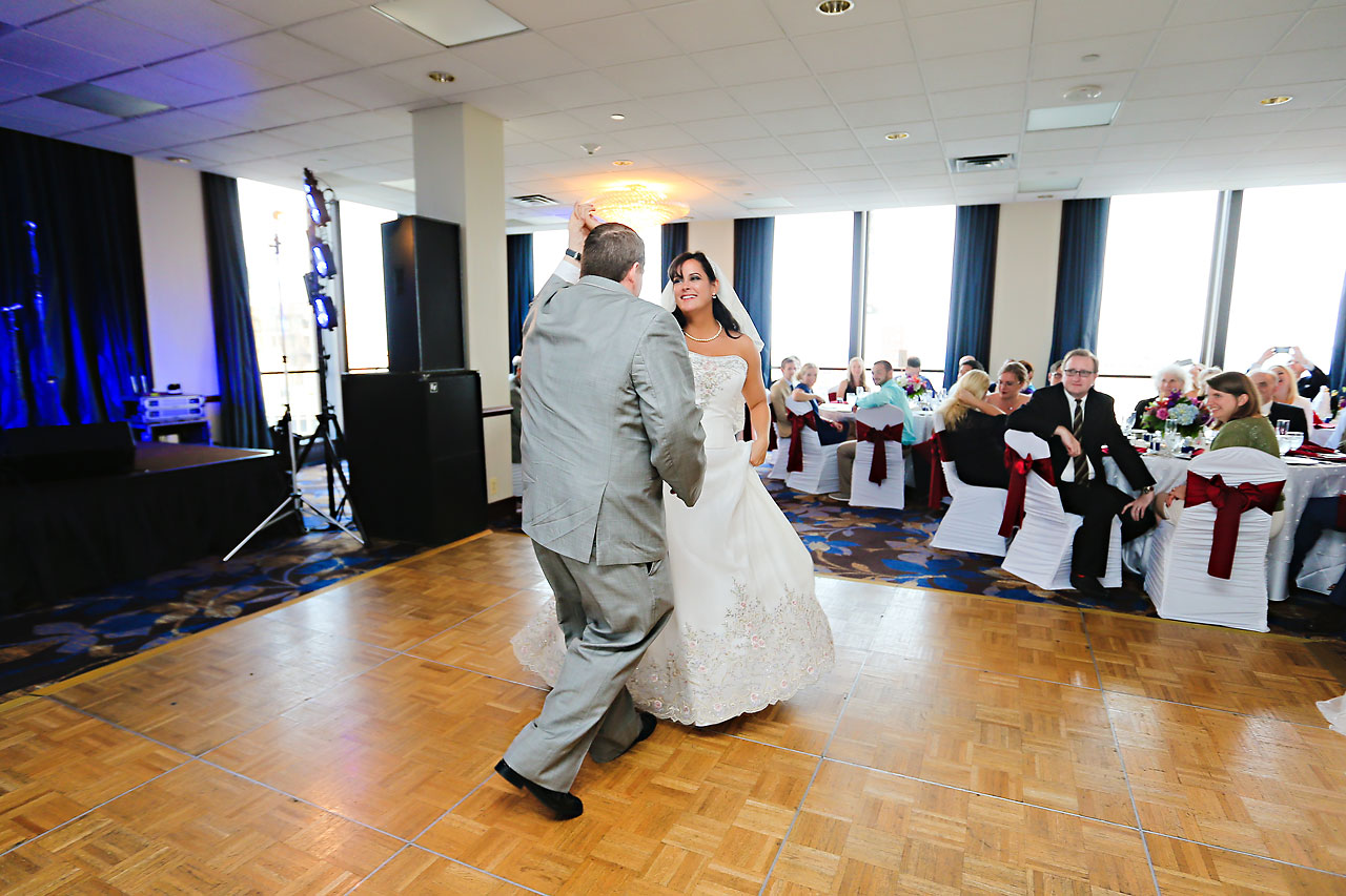 Megan Mike Sheraton Indianapolis Wedding 171