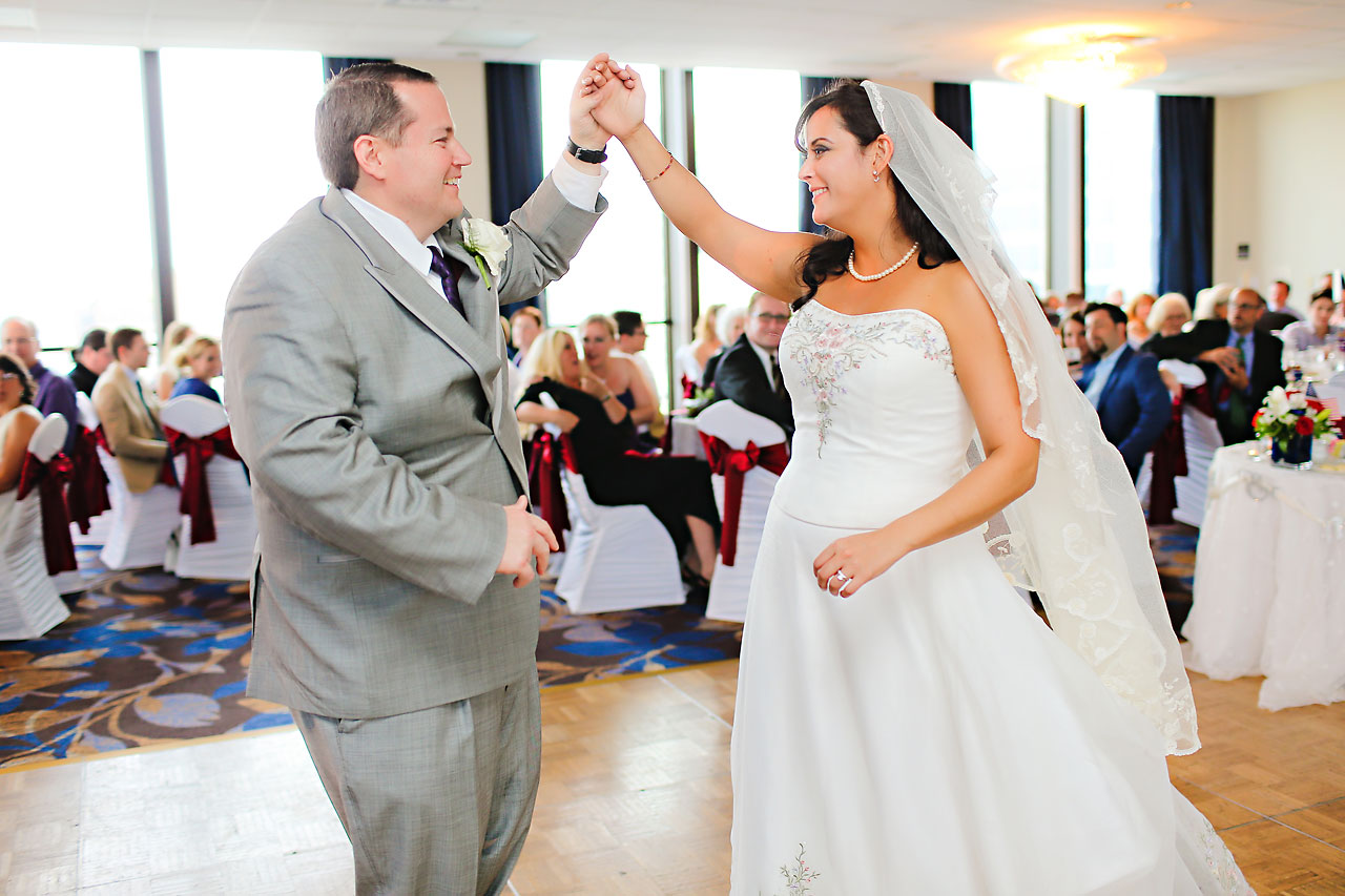 Megan Mike Sheraton Indianapolis Wedding 169