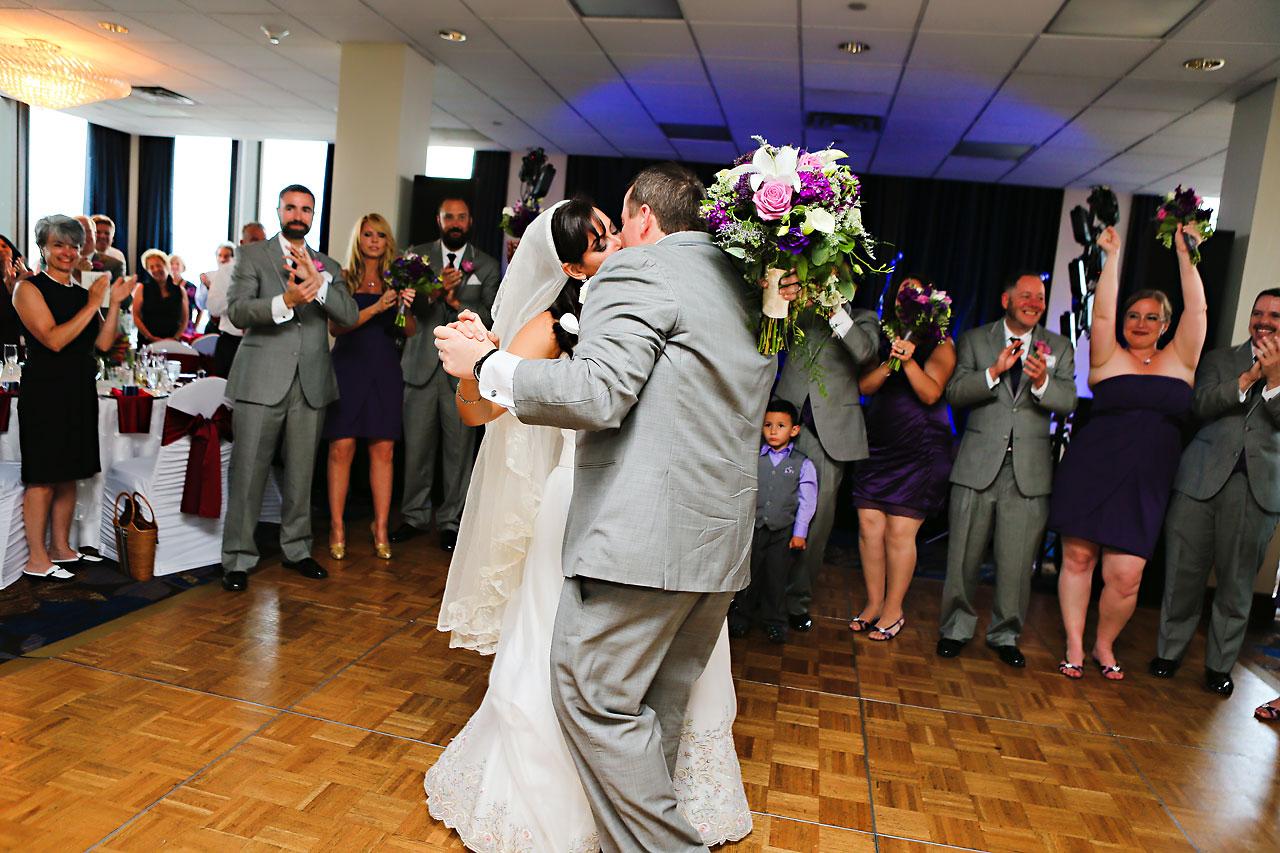 Megan Mike Sheraton Indianapolis Wedding 167