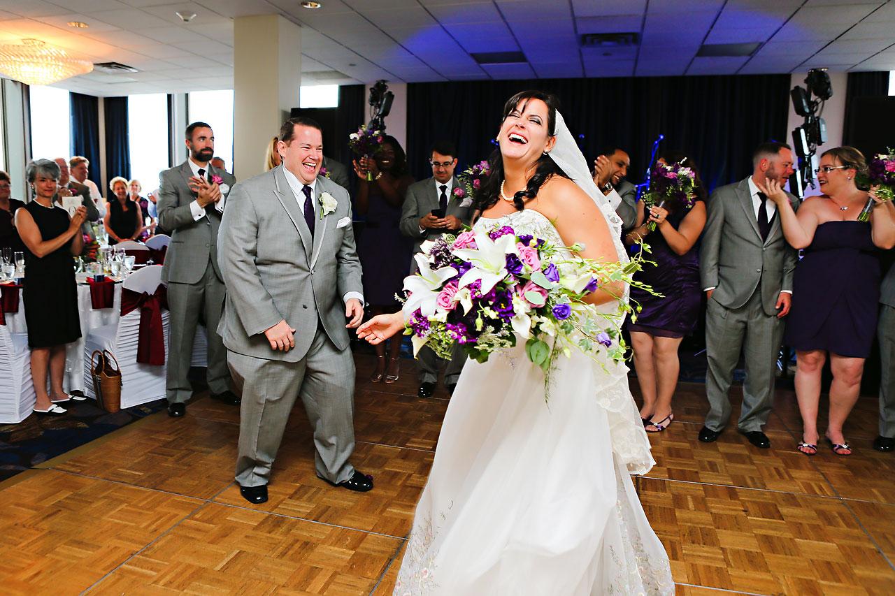 Megan Mike Sheraton Indianapolis Wedding 168