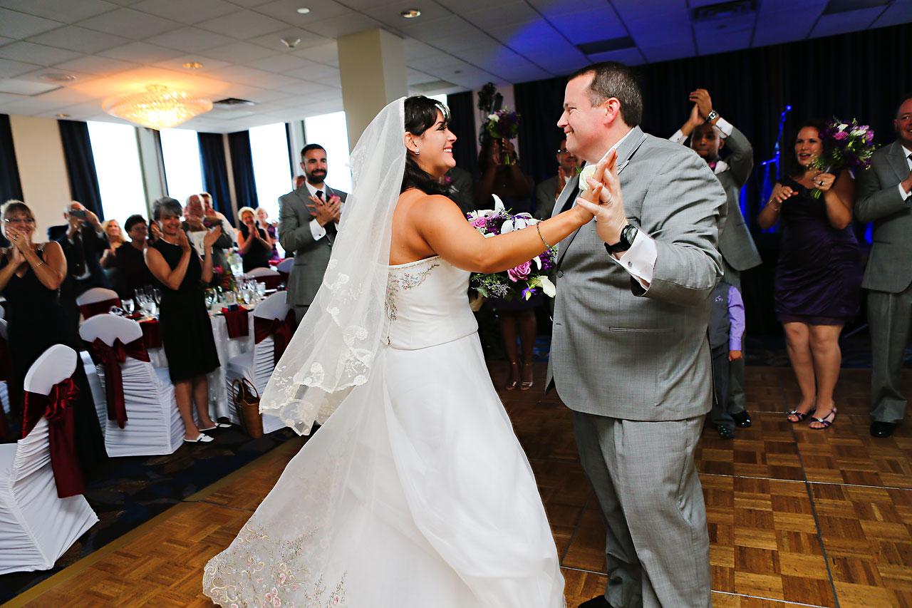 Megan Mike Sheraton Indianapolis Wedding 166