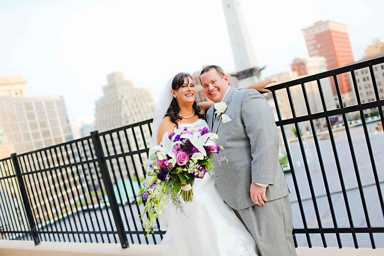 Megan Mike Sheraton Indianapolis Wedding 139