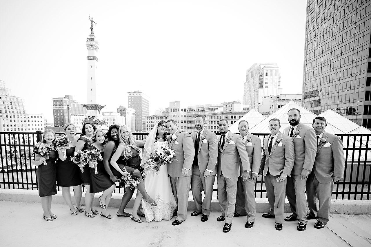 Megan Mike Sheraton Indianapolis Wedding 130