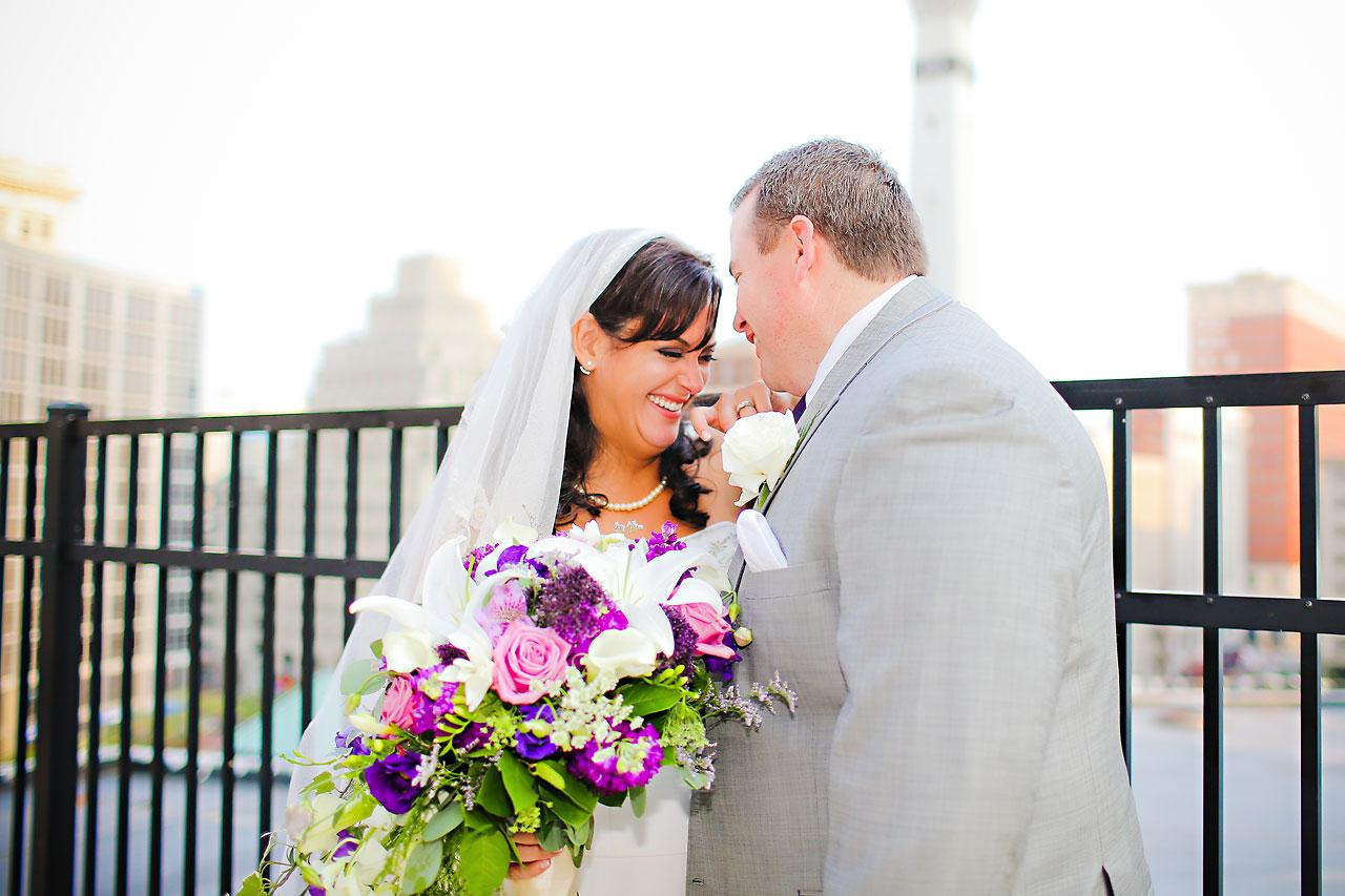 Megan Mike Sheraton Indianapolis Wedding 131