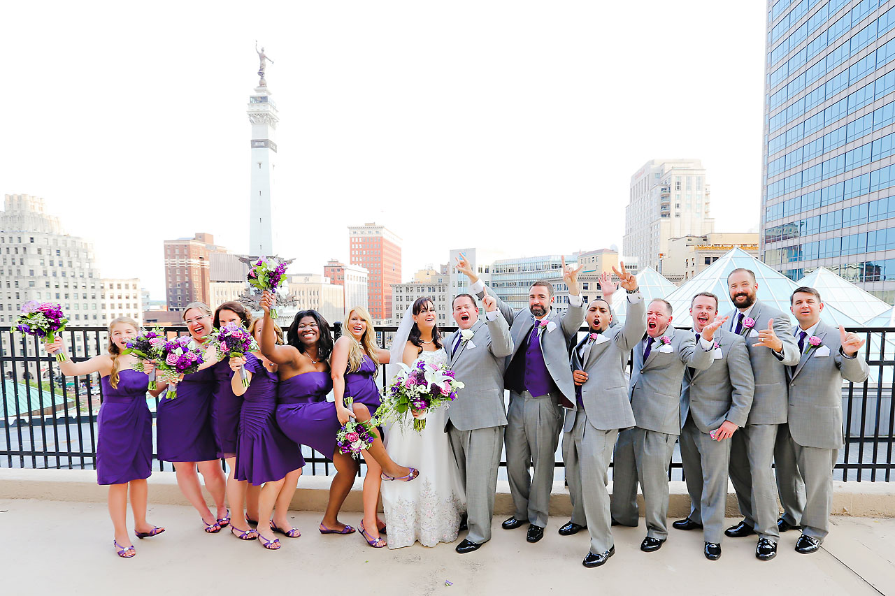 Megan Mike Sheraton Indianapolis Wedding 132