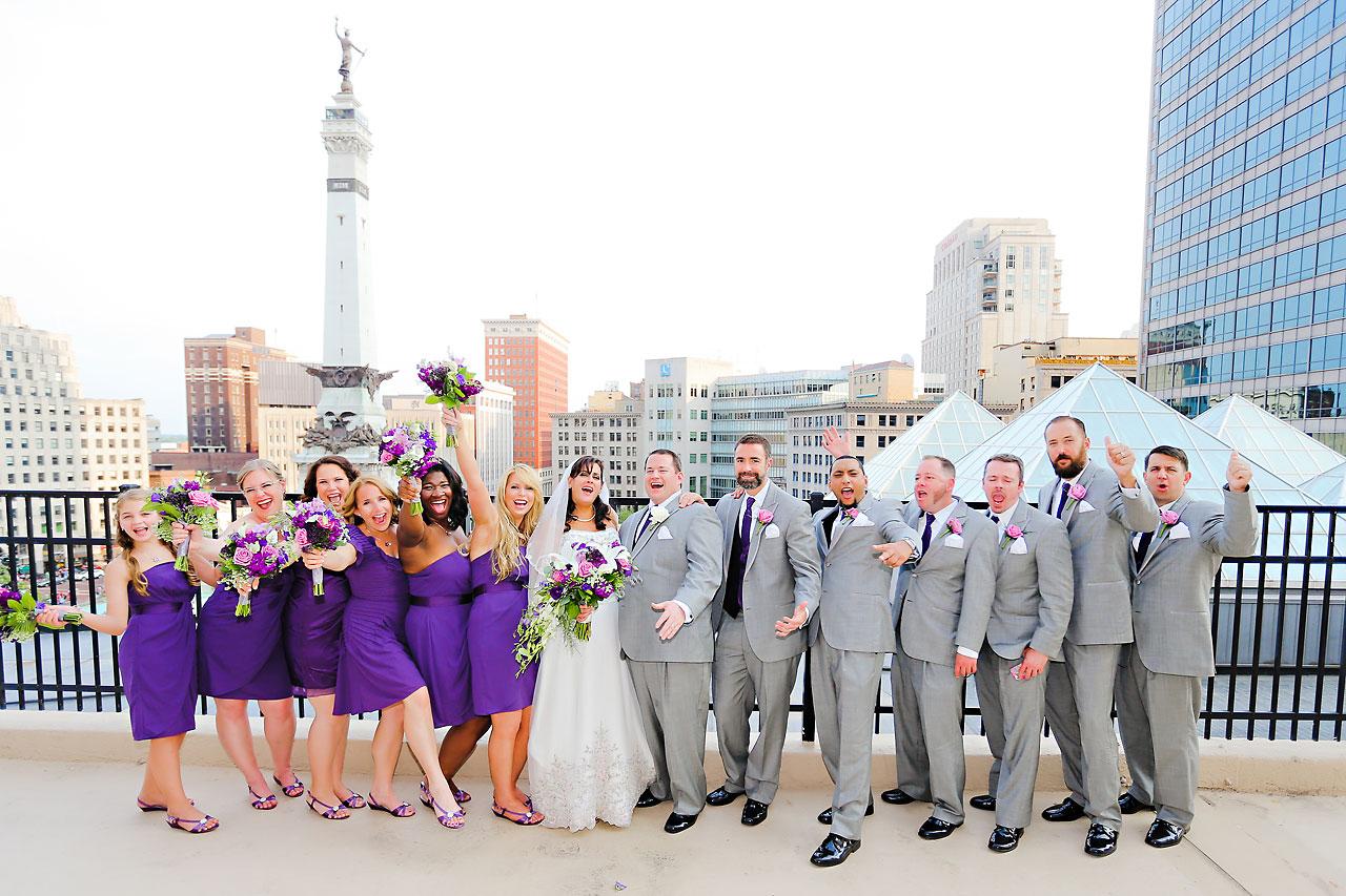 Megan Mike Sheraton Indianapolis Wedding 127