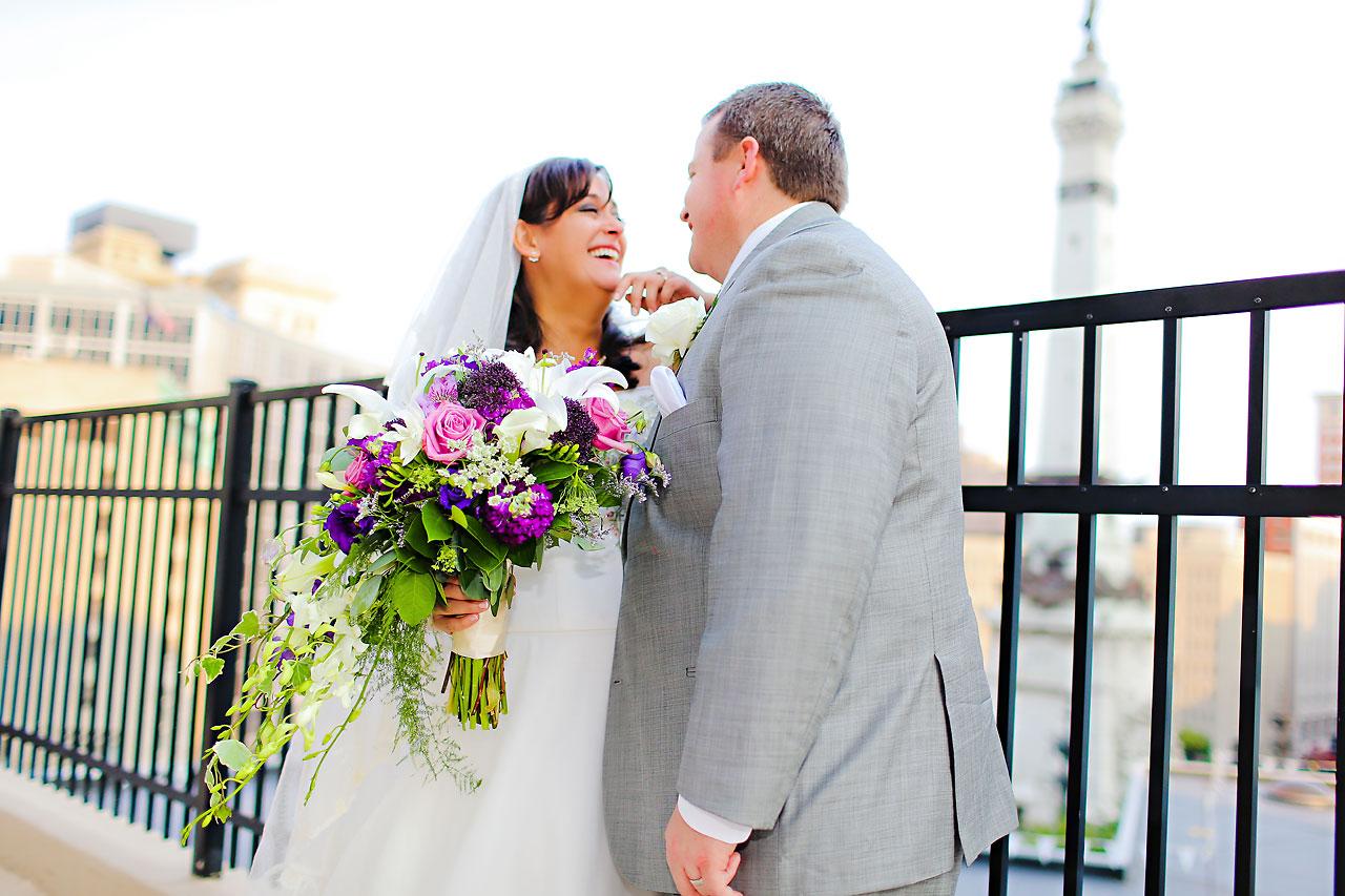 Megan Mike Sheraton Indianapolis Wedding 128