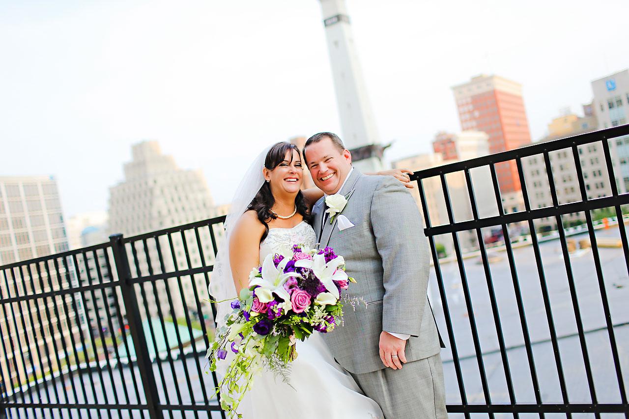 Megan Mike Sheraton Indianapolis Wedding 129
