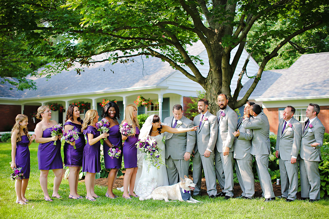 Megan Mike Sheraton Indianapolis Wedding 105