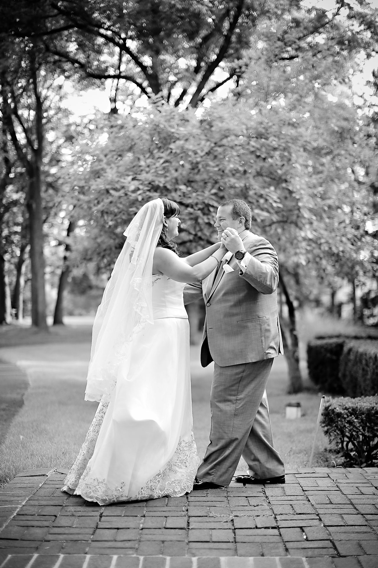 Megan Mike Sheraton Indianapolis Wedding 098