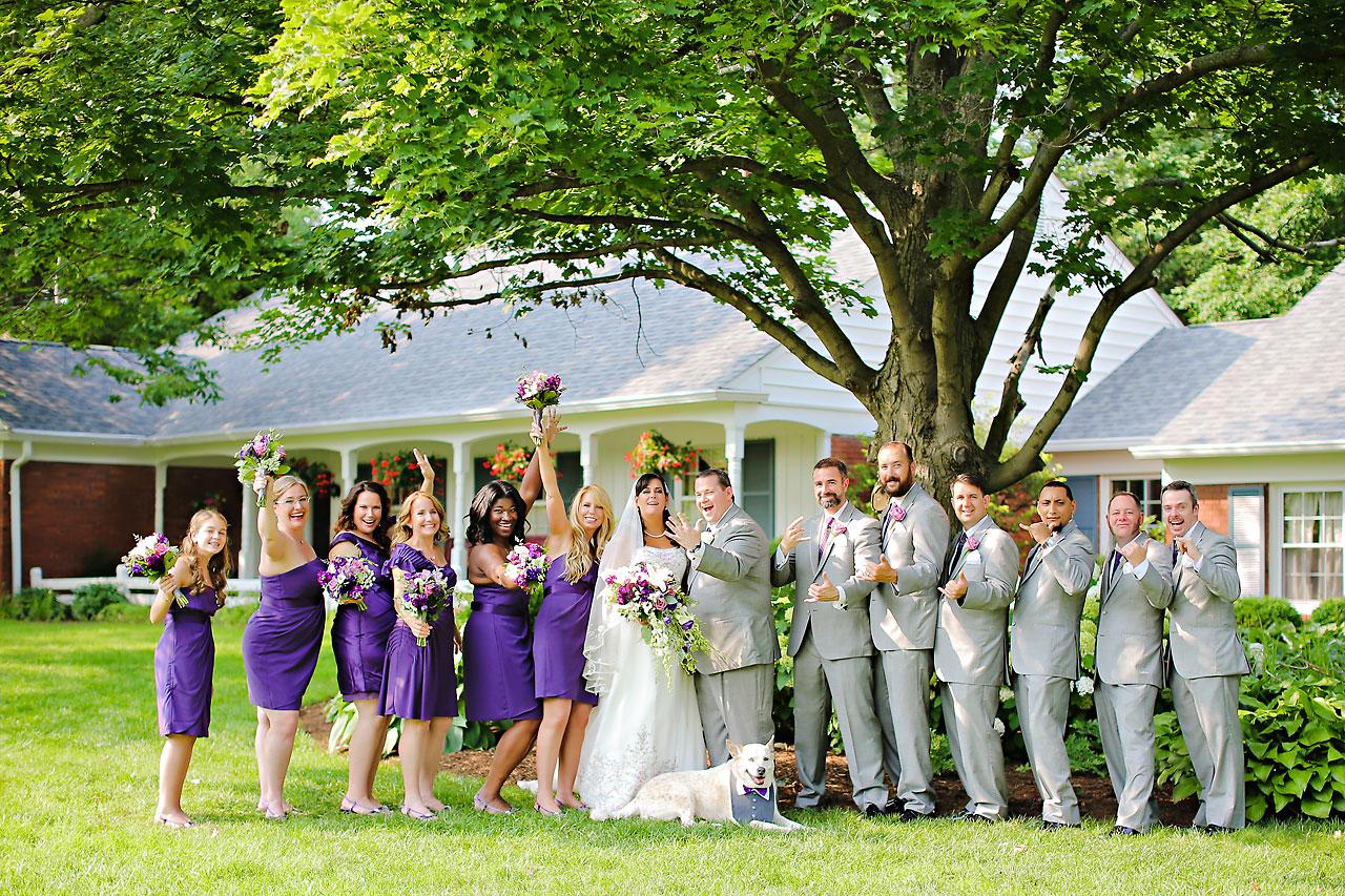 Megan Mike Sheraton Indianapolis Wedding 089