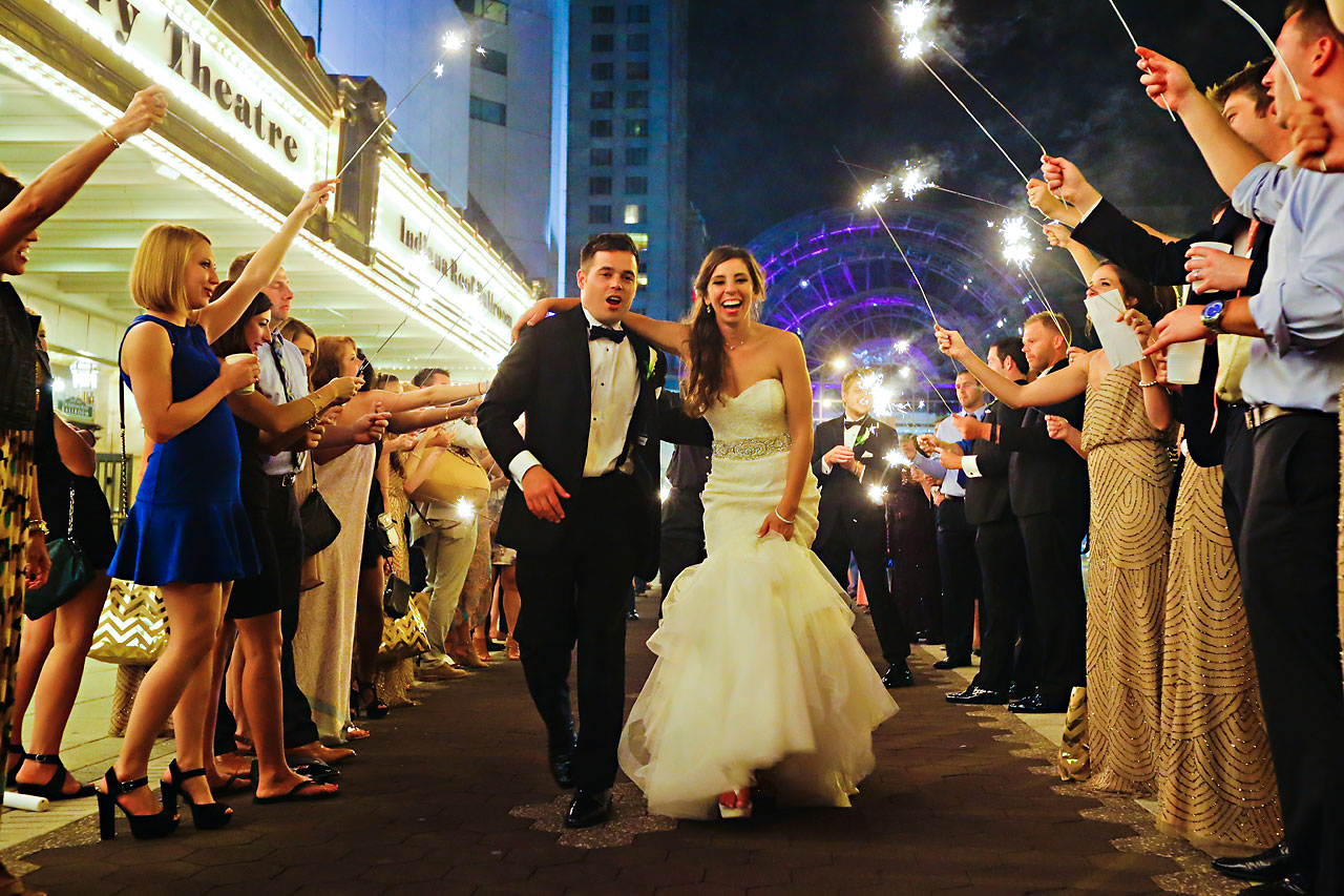 306 Vanessa Dustin Indiana Roof Ballroom Wedding