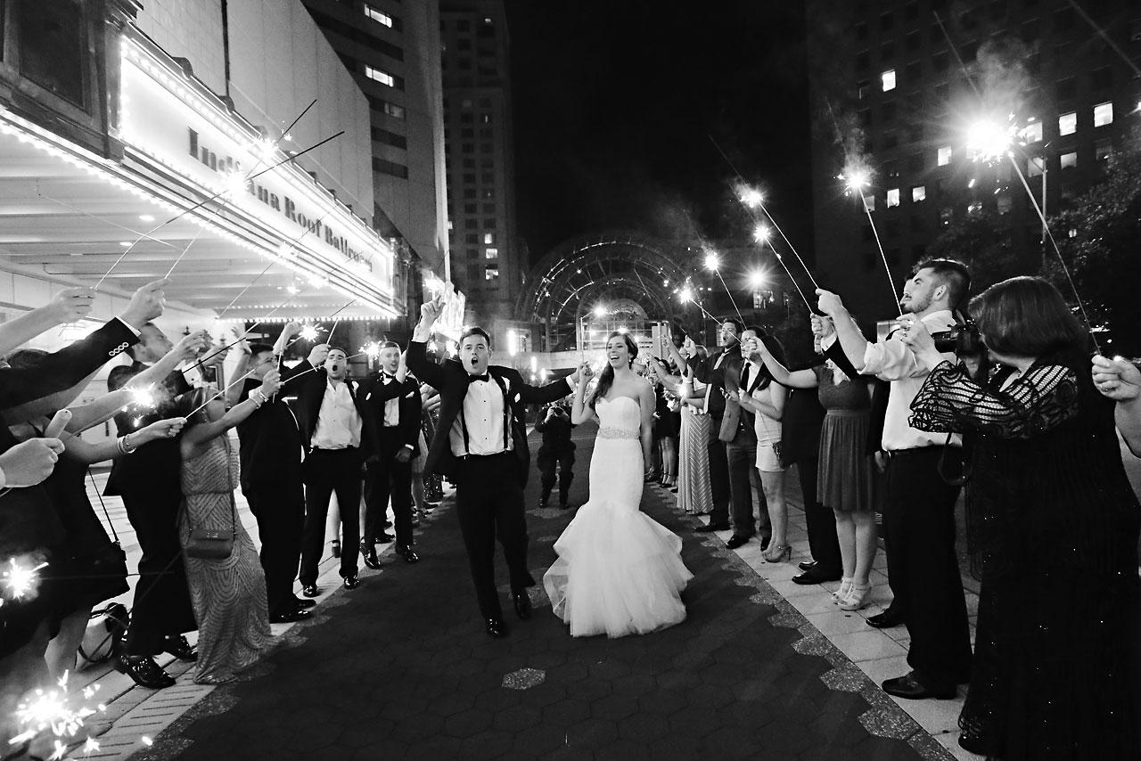 304 Vanessa Dustin Indiana Roof Ballroom Wedding