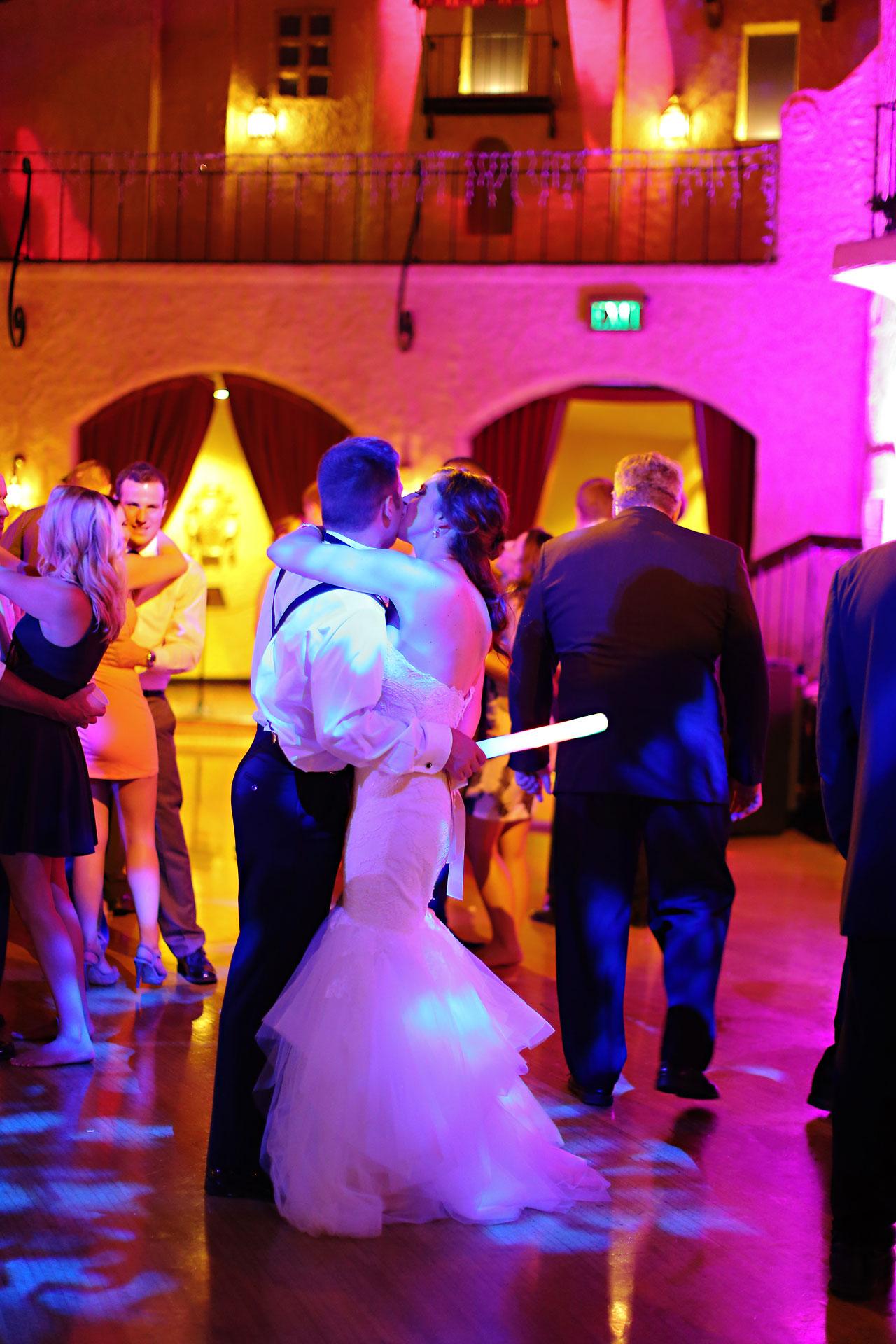 297 Vanessa Dustin Indiana Roof Ballroom Wedding