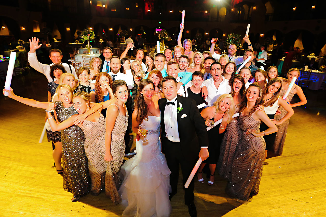 299 Vanessa Dustin Indiana Roof Ballroom Wedding
