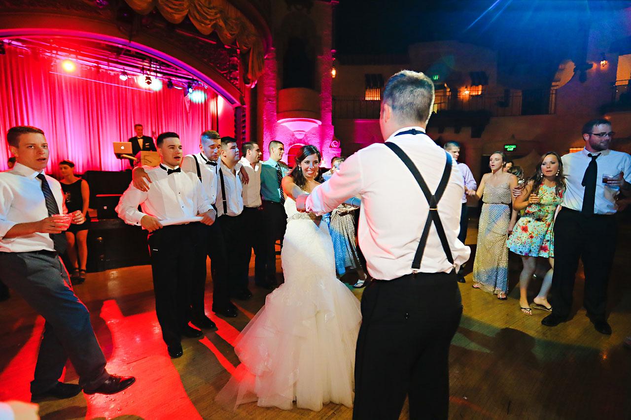 295 Vanessa Dustin Indiana Roof Ballroom Wedding