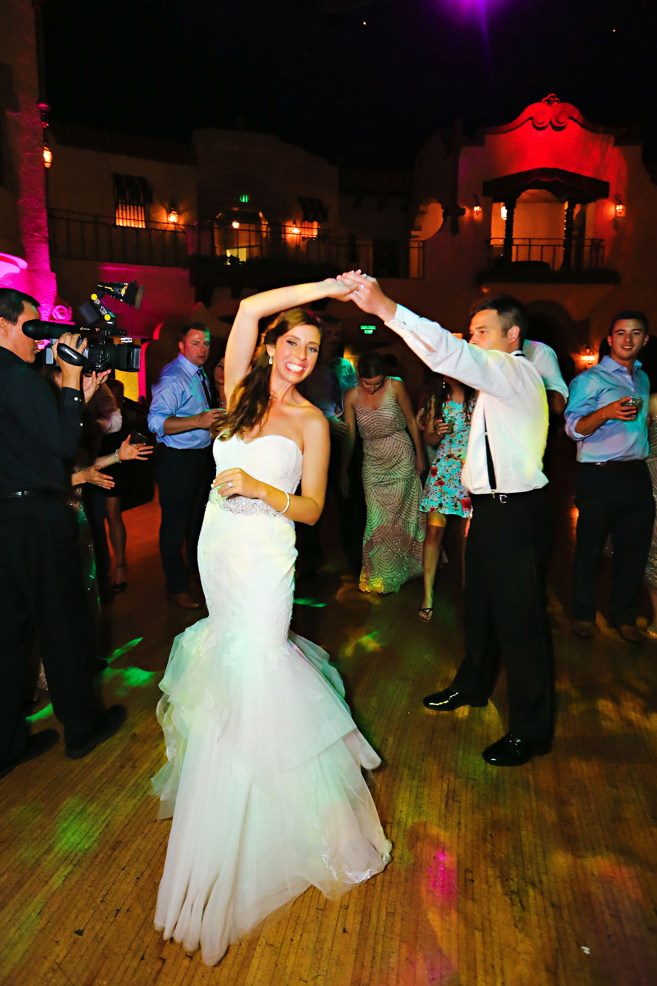 296 Vanessa Dustin Indiana Roof Ballroom Wedding