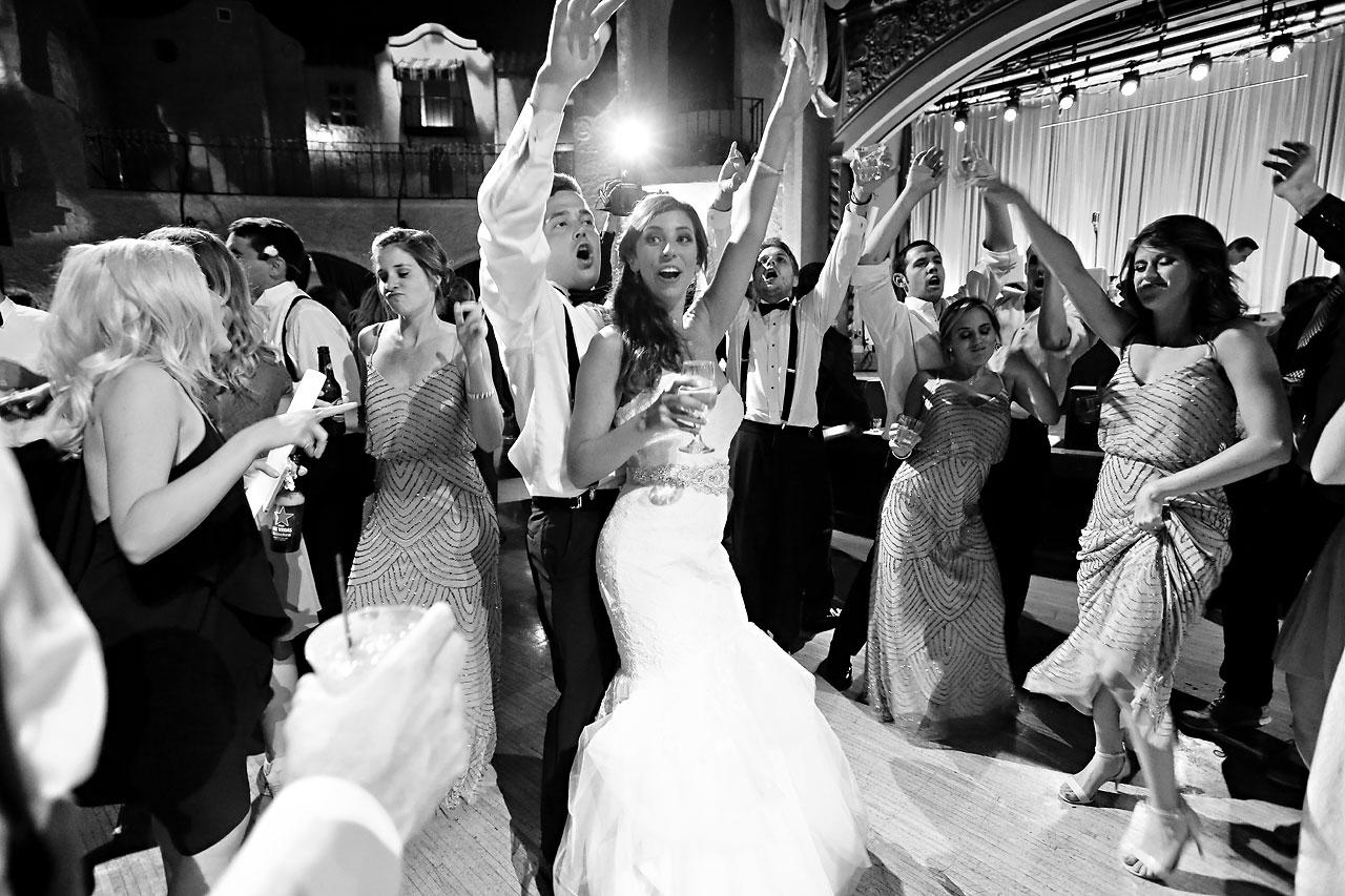 292 Vanessa Dustin Indiana Roof Ballroom Wedding