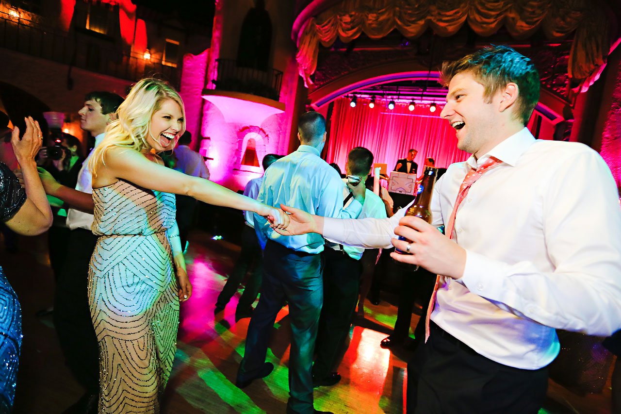 293 Vanessa Dustin Indiana Roof Ballroom Wedding