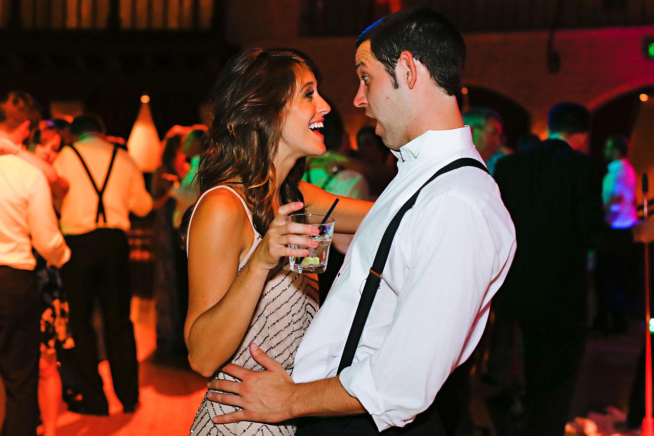 289 Vanessa Dustin Indiana Roof Ballroom Wedding