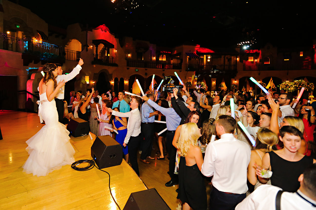 287 Vanessa Dustin Indiana Roof Ballroom Wedding