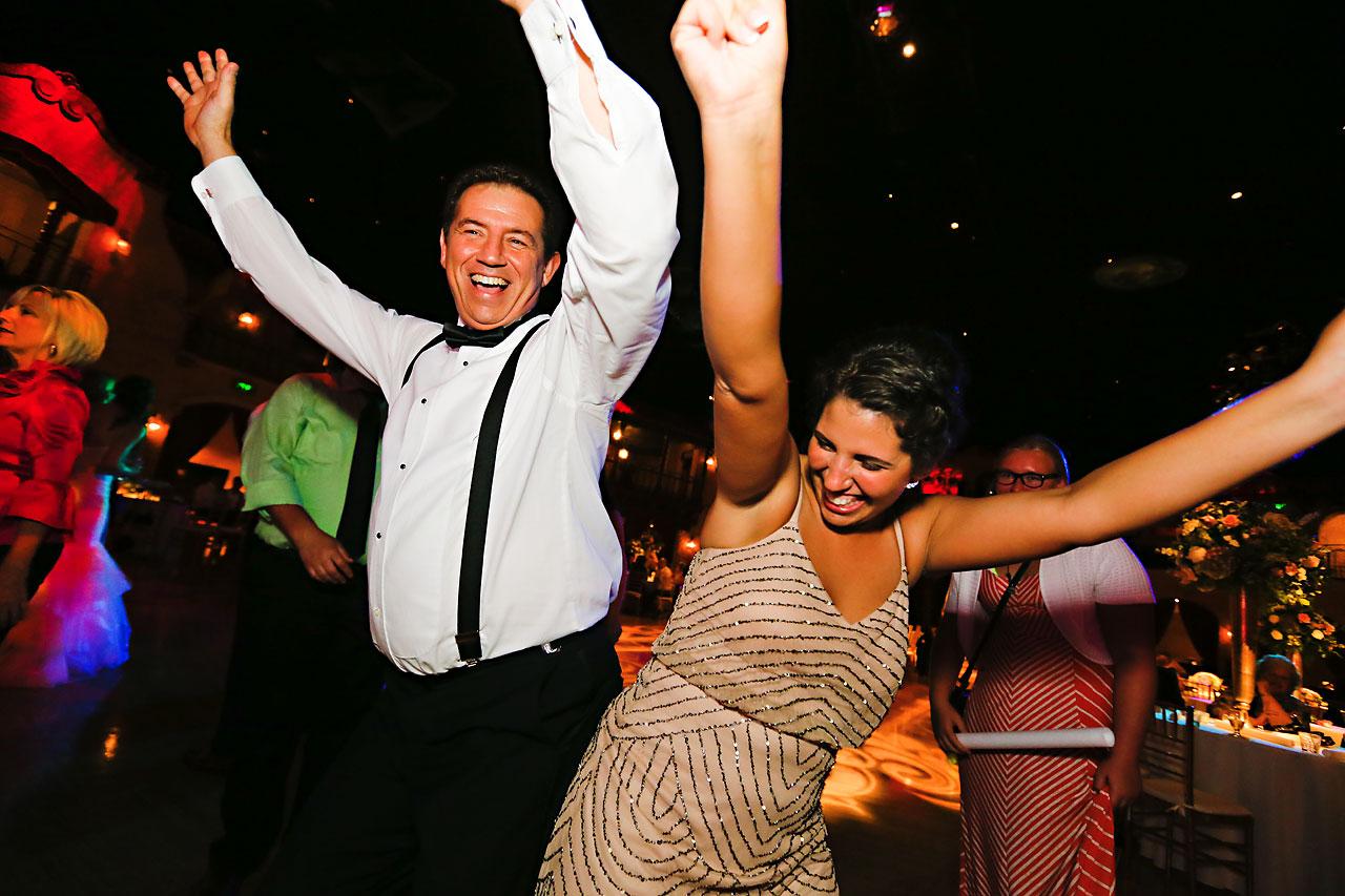 283 Vanessa Dustin Indiana Roof Ballroom Wedding