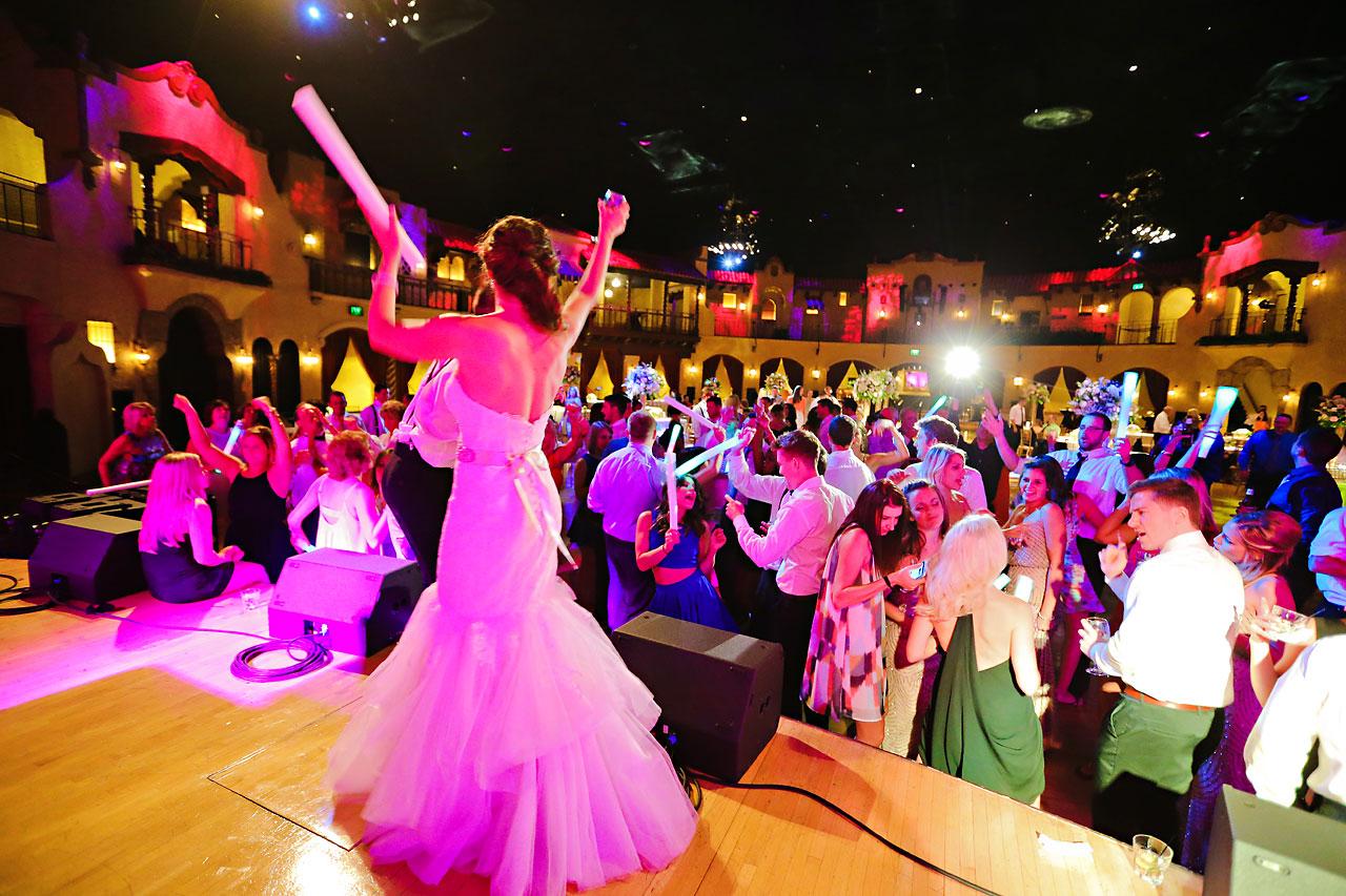 282 Vanessa Dustin Indiana Roof Ballroom Wedding