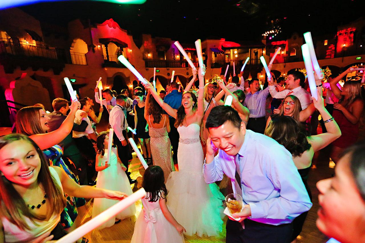 279 Vanessa Dustin Indiana Roof Ballroom Wedding